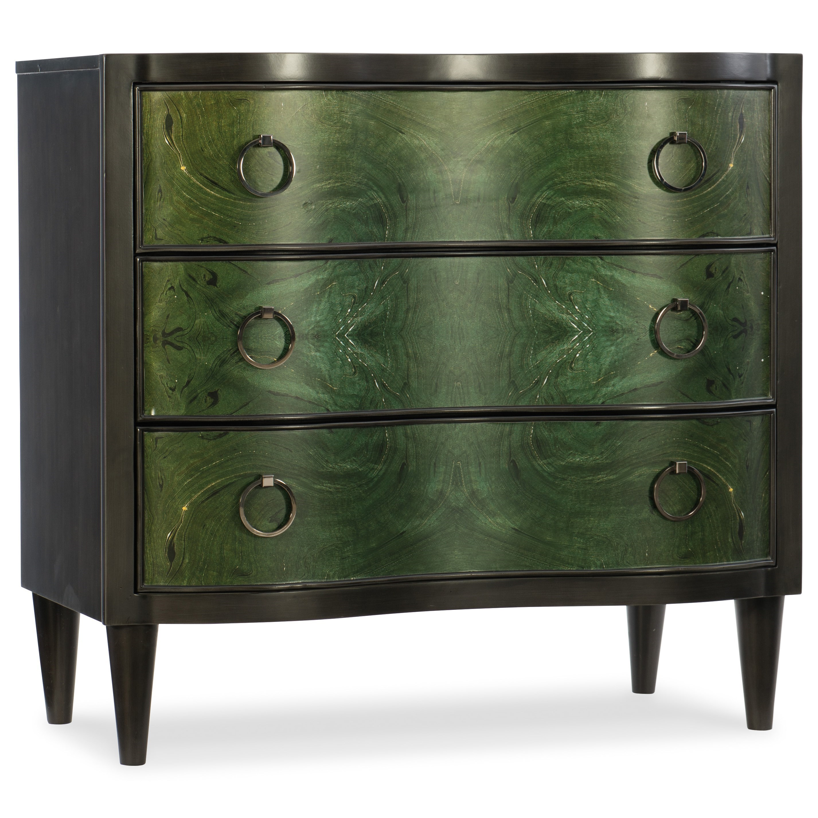 Melange Green Tolli Accent Chest by Hooker Furniture at Zak's Home