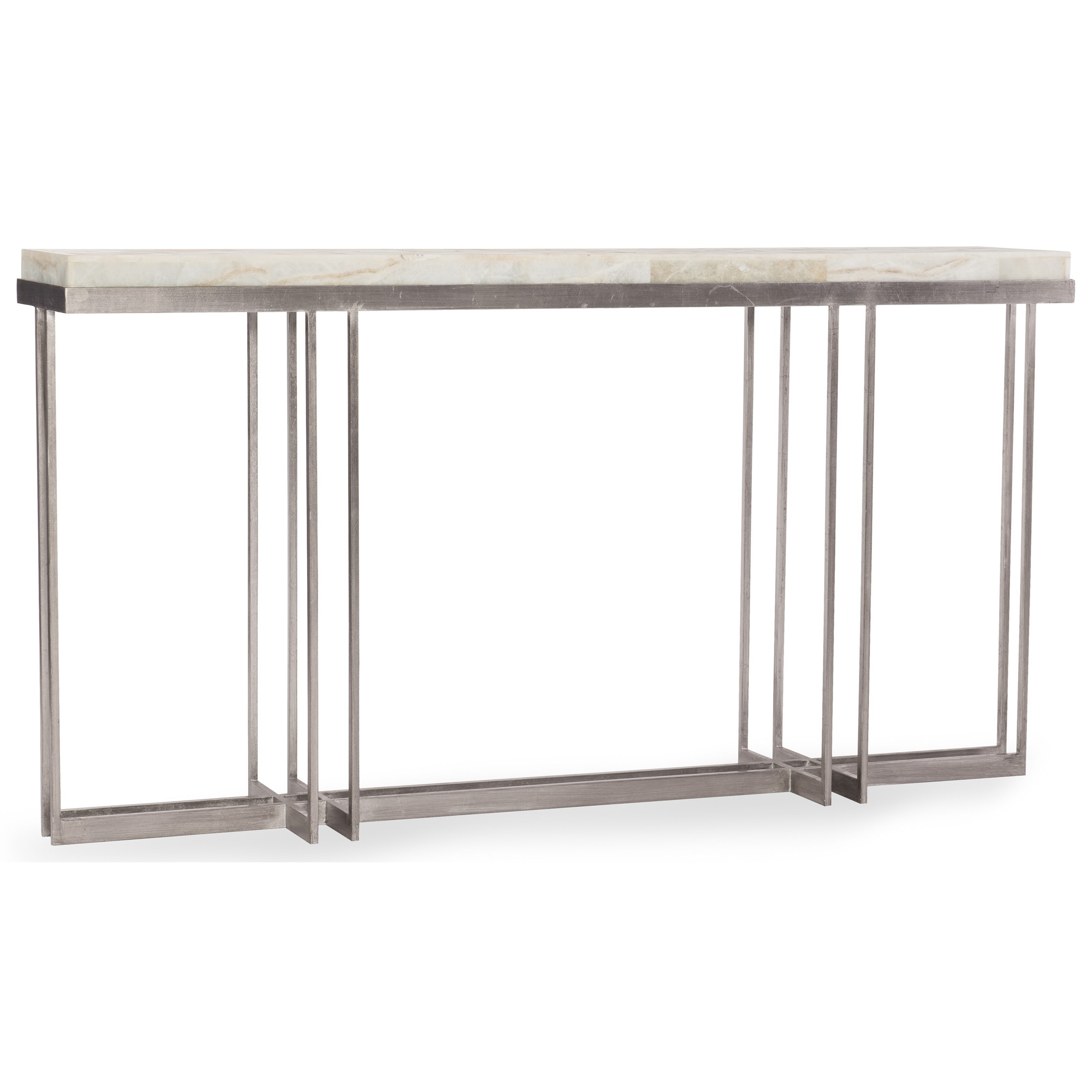 Melange Blaire Console Table by Hooker Furniture at Miller Waldrop Furniture and Decor