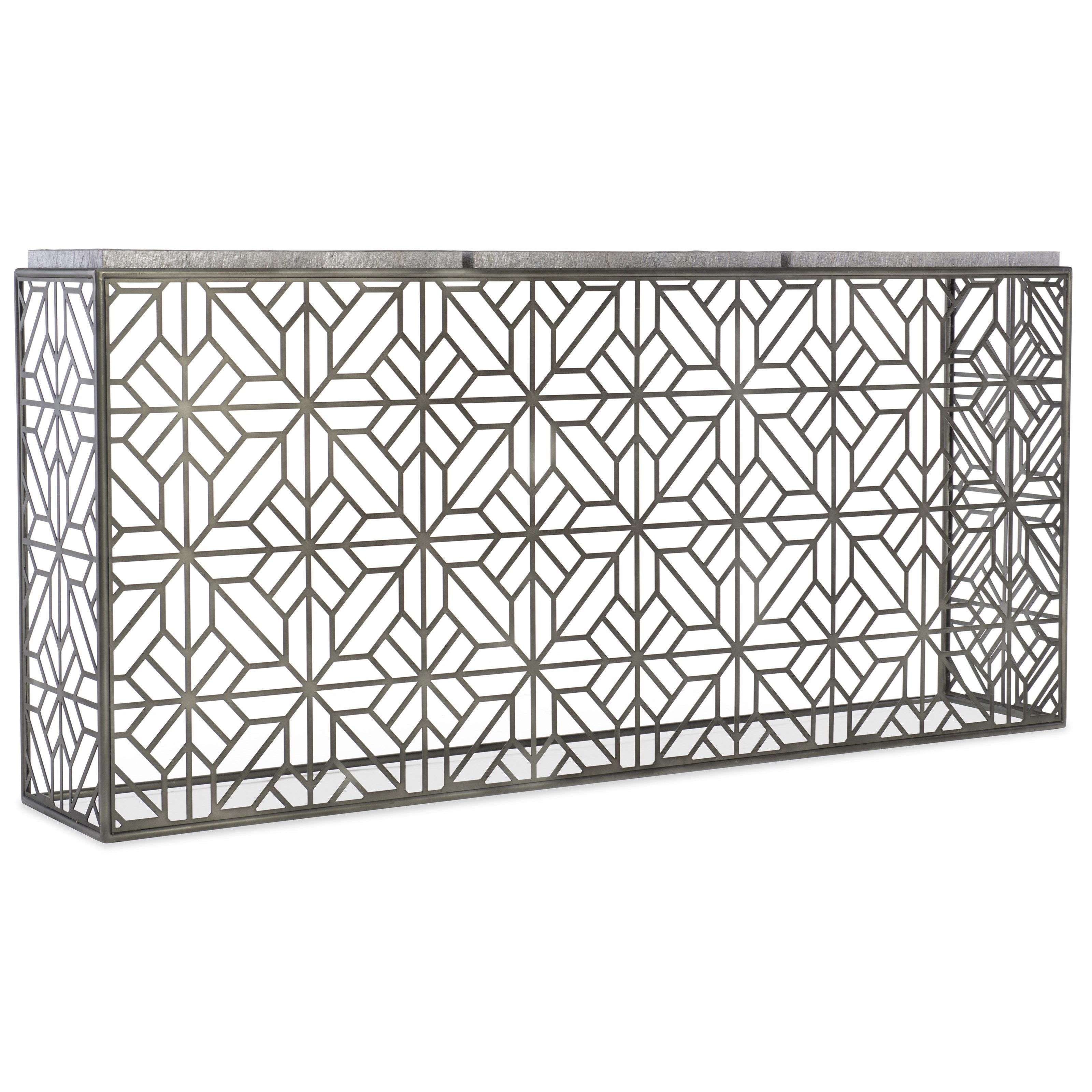 Melange Angeline Console by Hooker Furniture at Fisher Home Furnishings