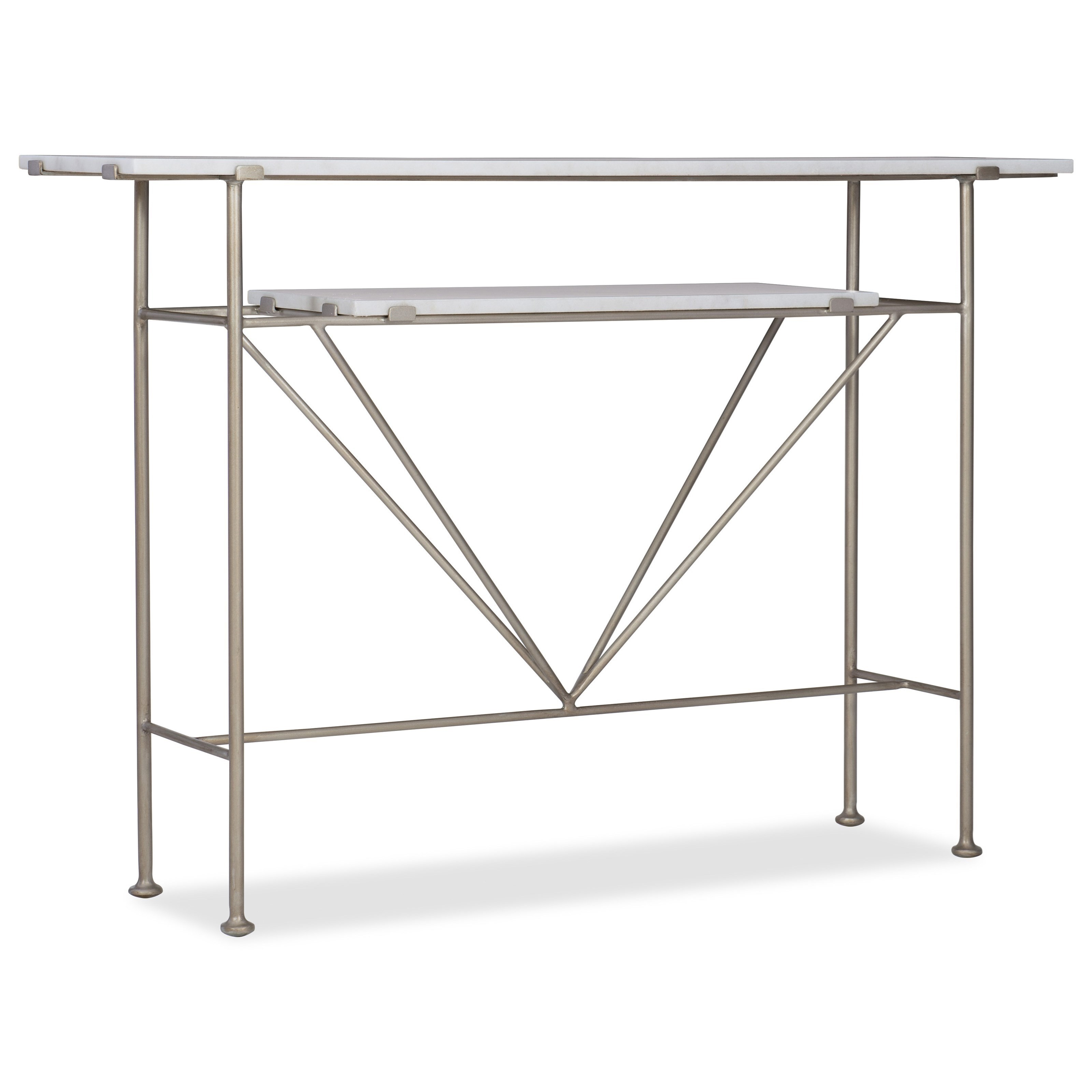 Melange Rivata Hall Console by Hooker Furniture at Fisher Home Furnishings