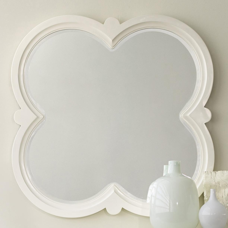 Melange Quatrefoil Mirror by Hooker Furniture at Zak's Home