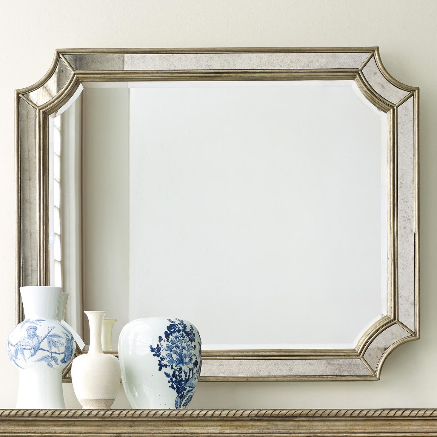 Melange Montage Mirror by Hooker Furniture at Zak's Home