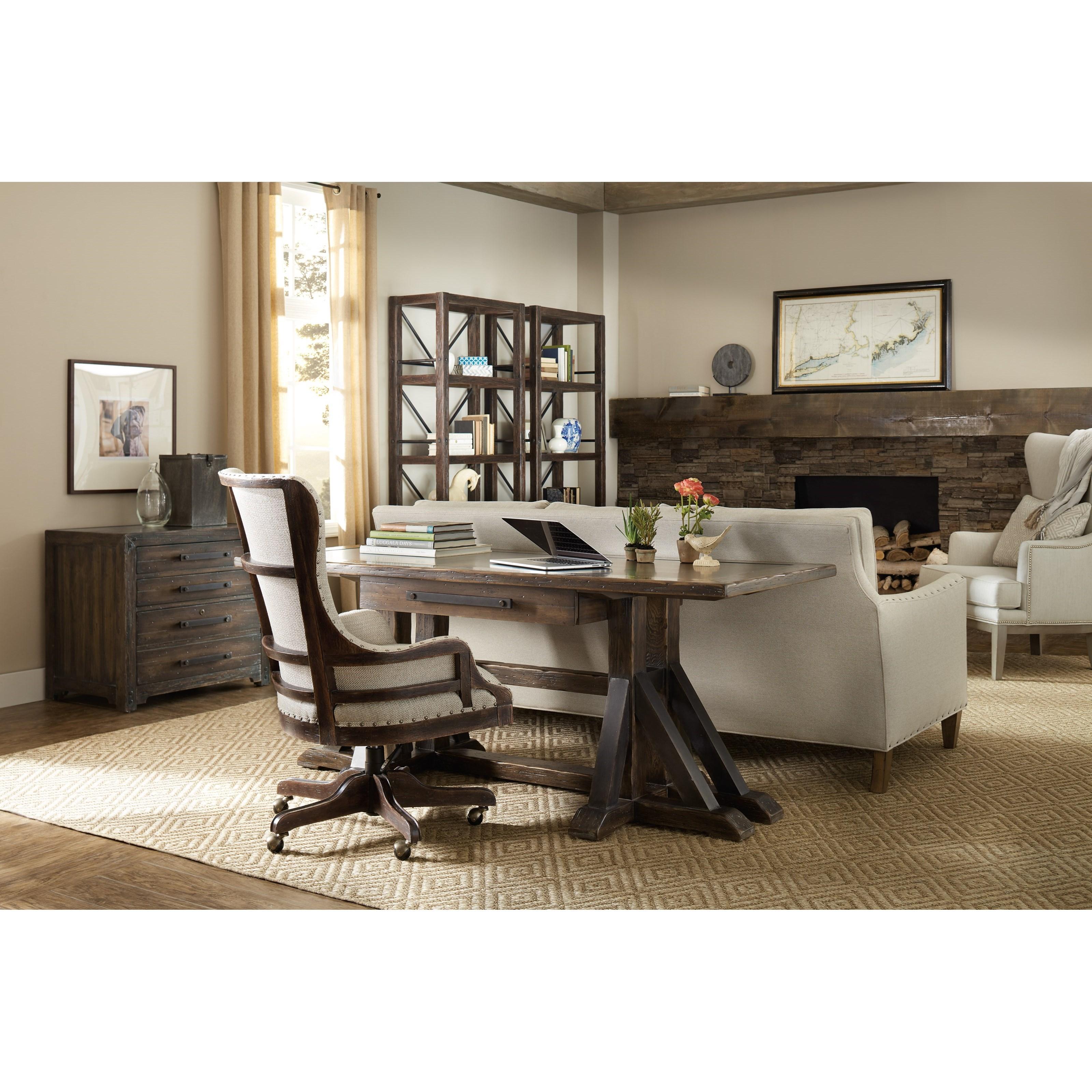 Hooker furniture american life roslyn county for American lifestyle furniture