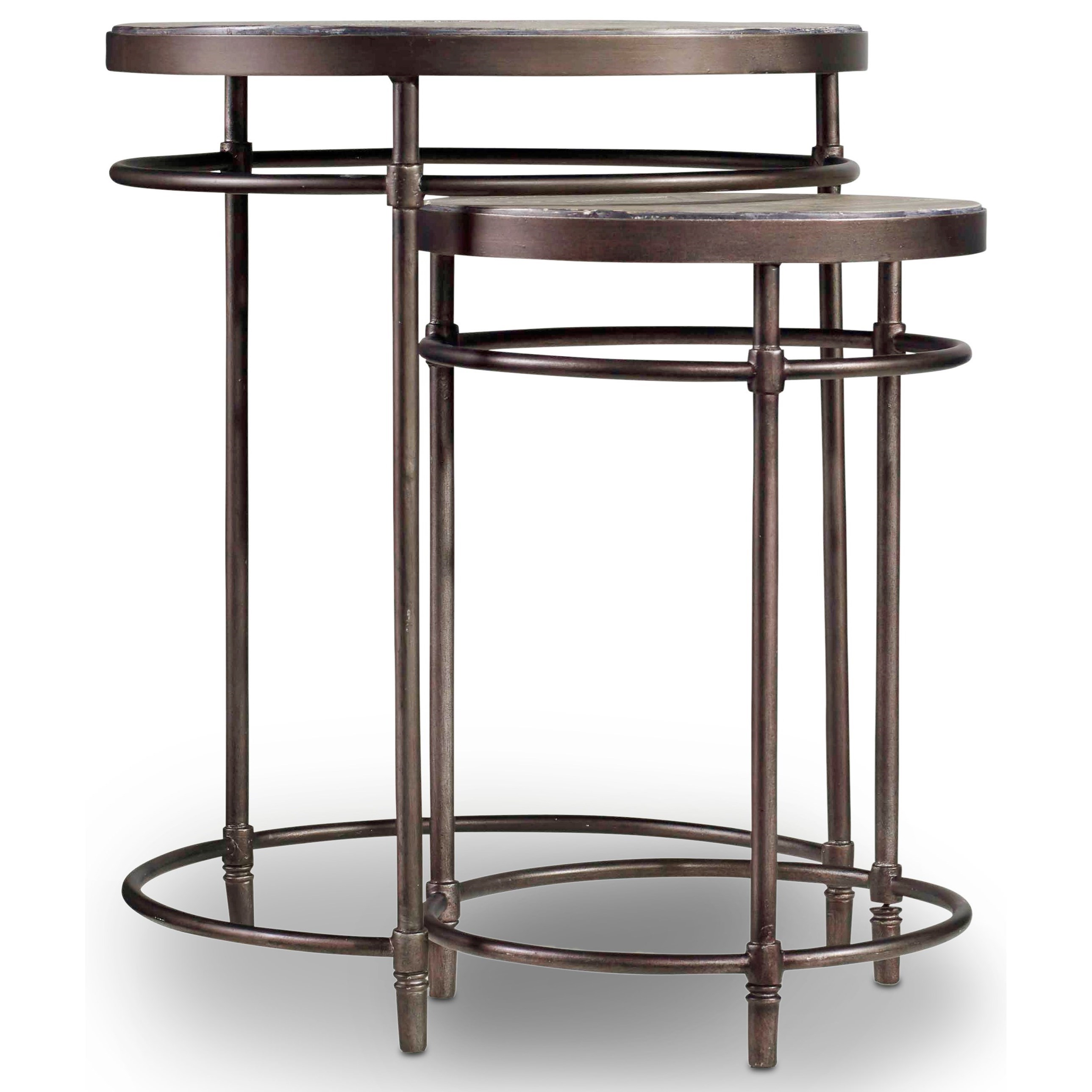Saint Armand Nest of Tables by Hooker Furniture at Miller Waldrop Furniture and Decor