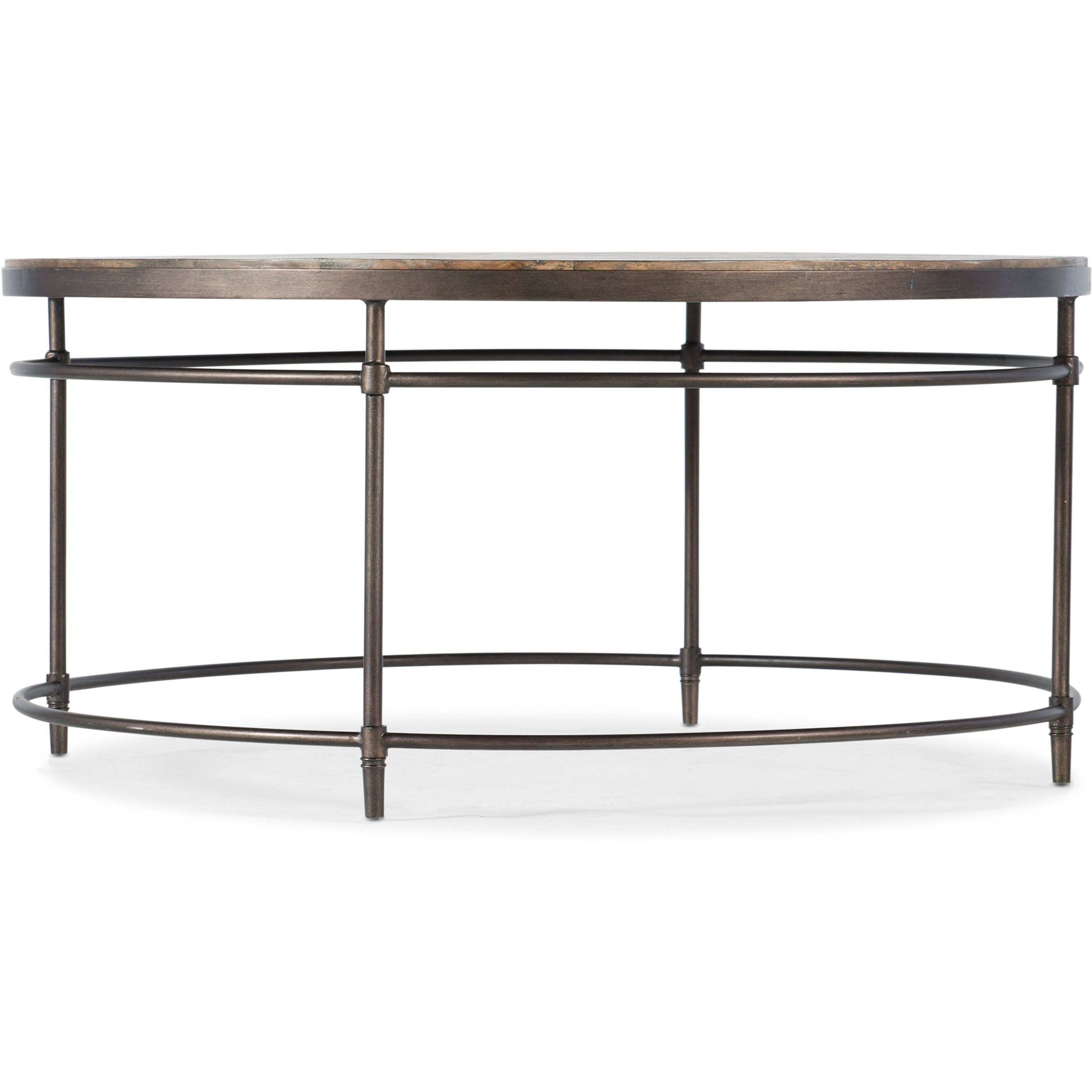 Saint Armand Round Cocktail Table by Hooker Furniture at Baer's Furniture