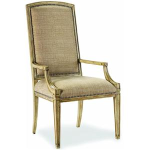 Sanctuary Paris Accent Chair With Exposed Wood Legs