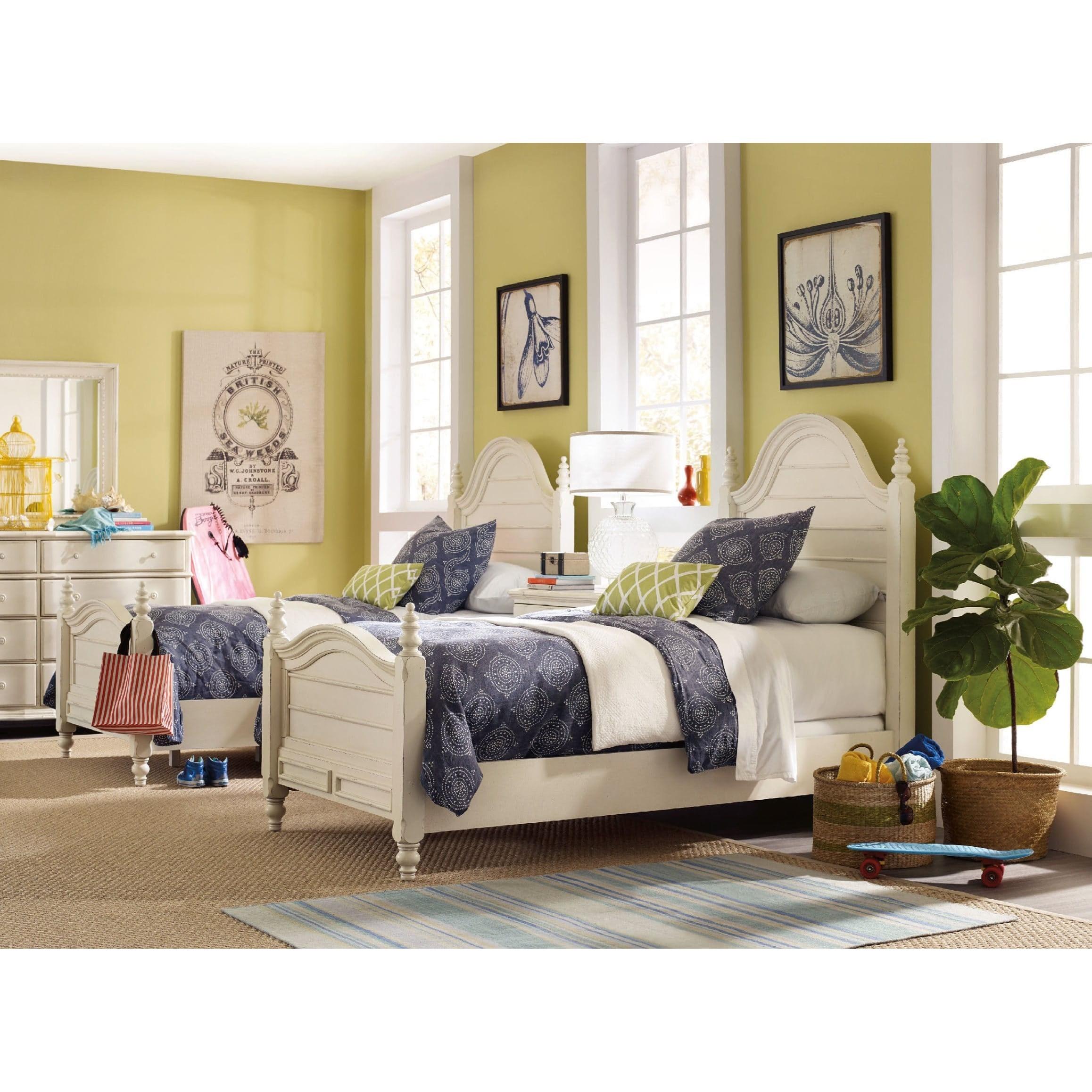 Hooker furniture sandcastle twin bedroom group for Bedroom groups