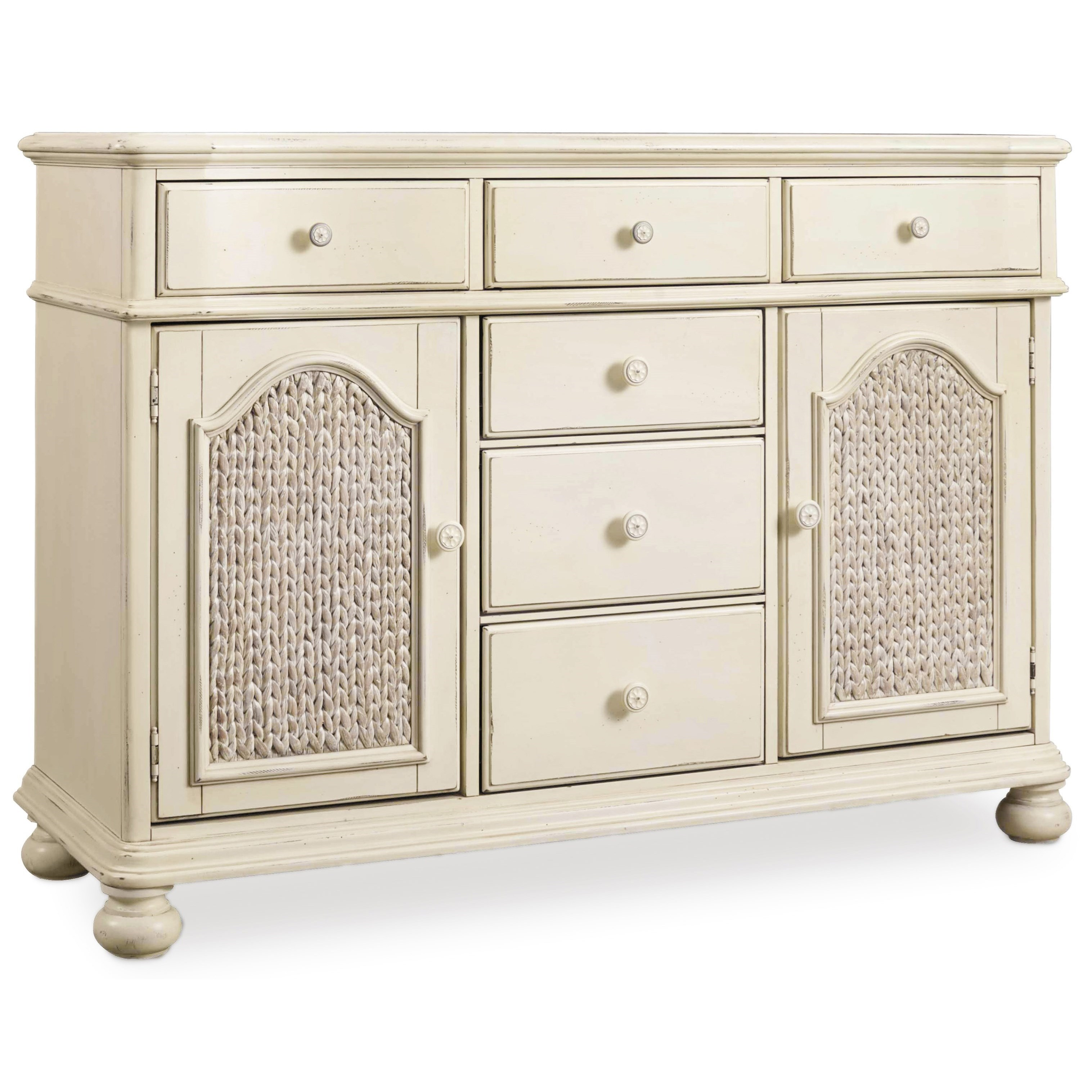 Hooker Furniture Sandcastle 5900 75900 Wh Buffet With