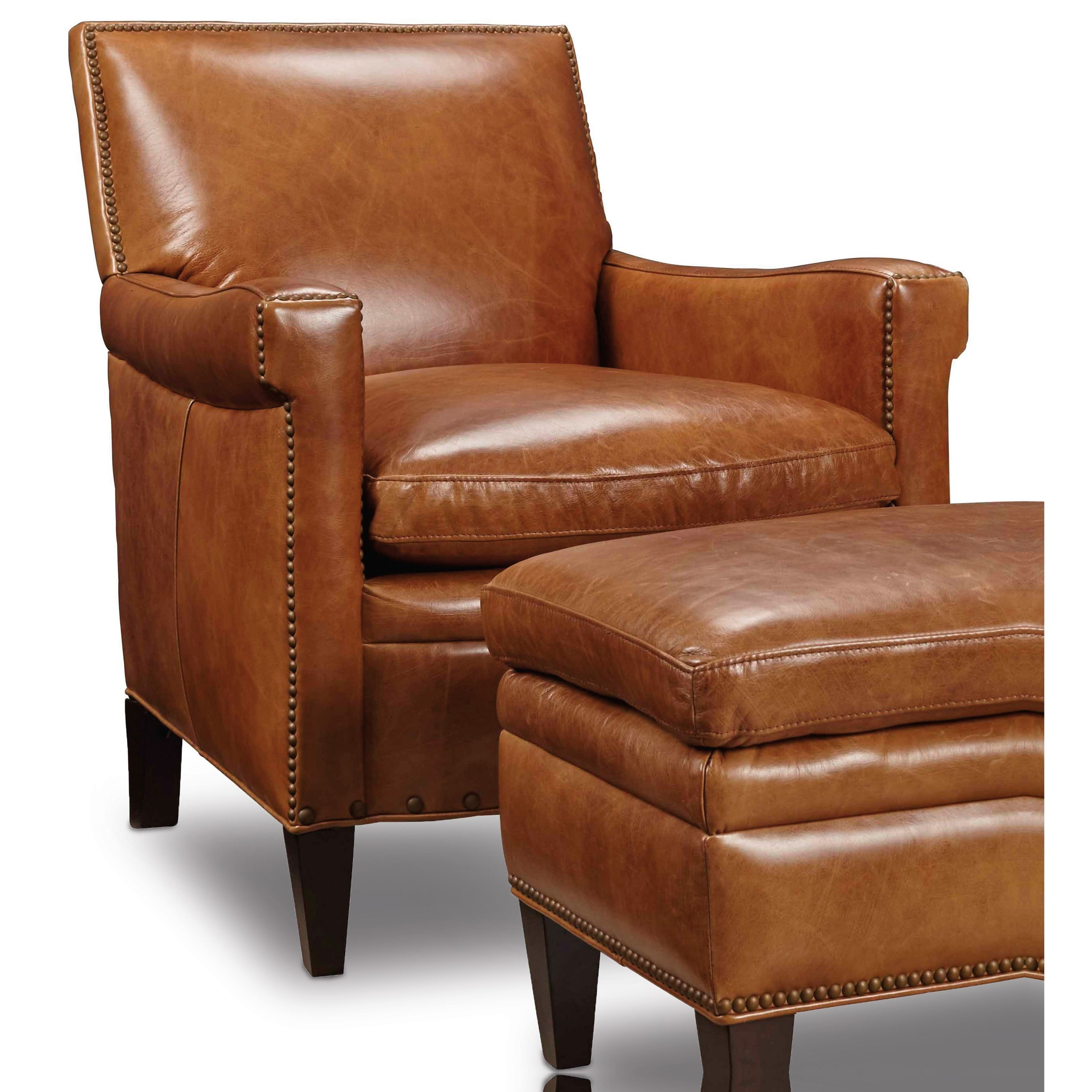 Hooker Furniture Club Chairs Traditional Club Chair With Nailhead Trim Knight Furniture