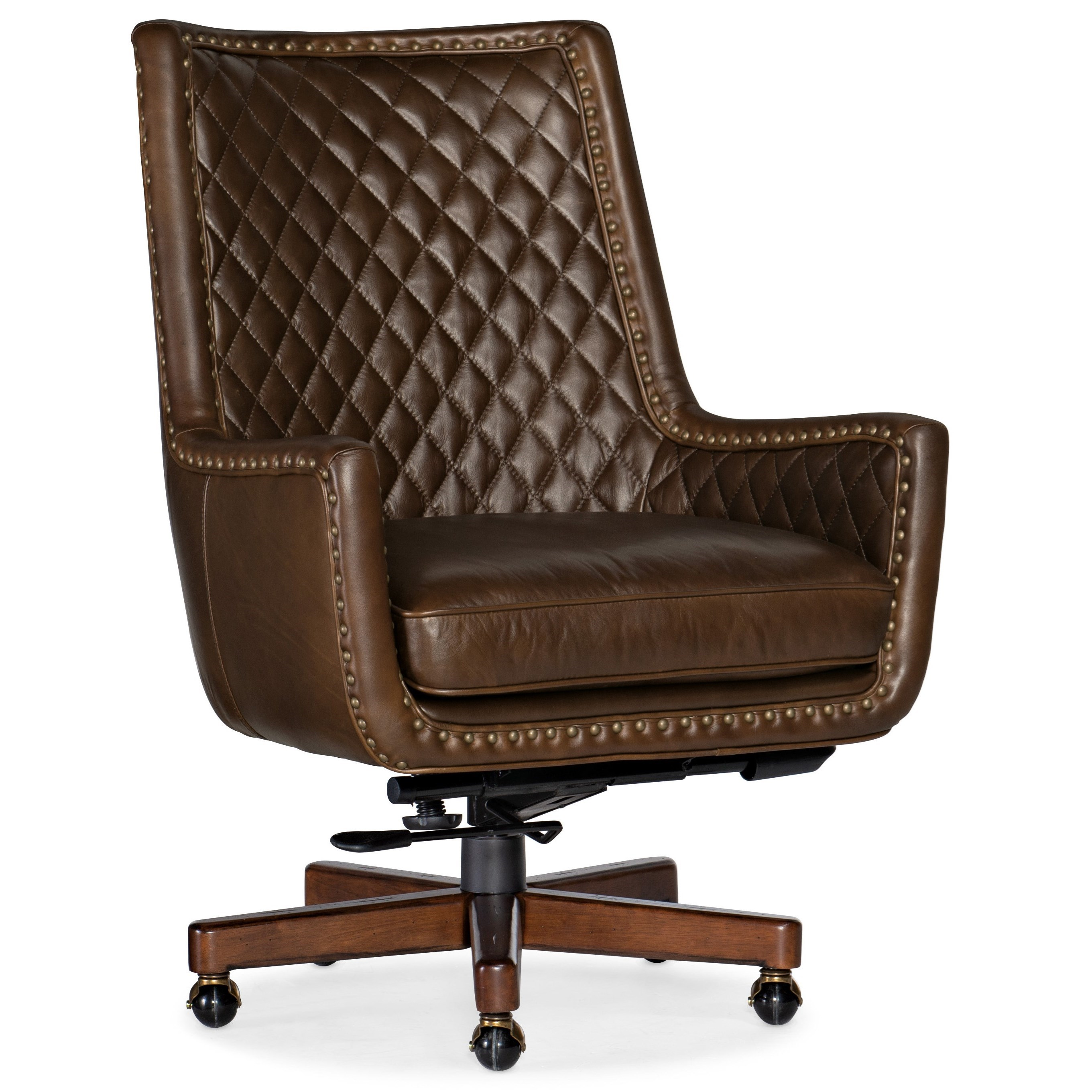 Executive Seating Kent Executive Swivel Tilt Chair by Hooker Furniture at Miller Waldrop Furniture and Decor