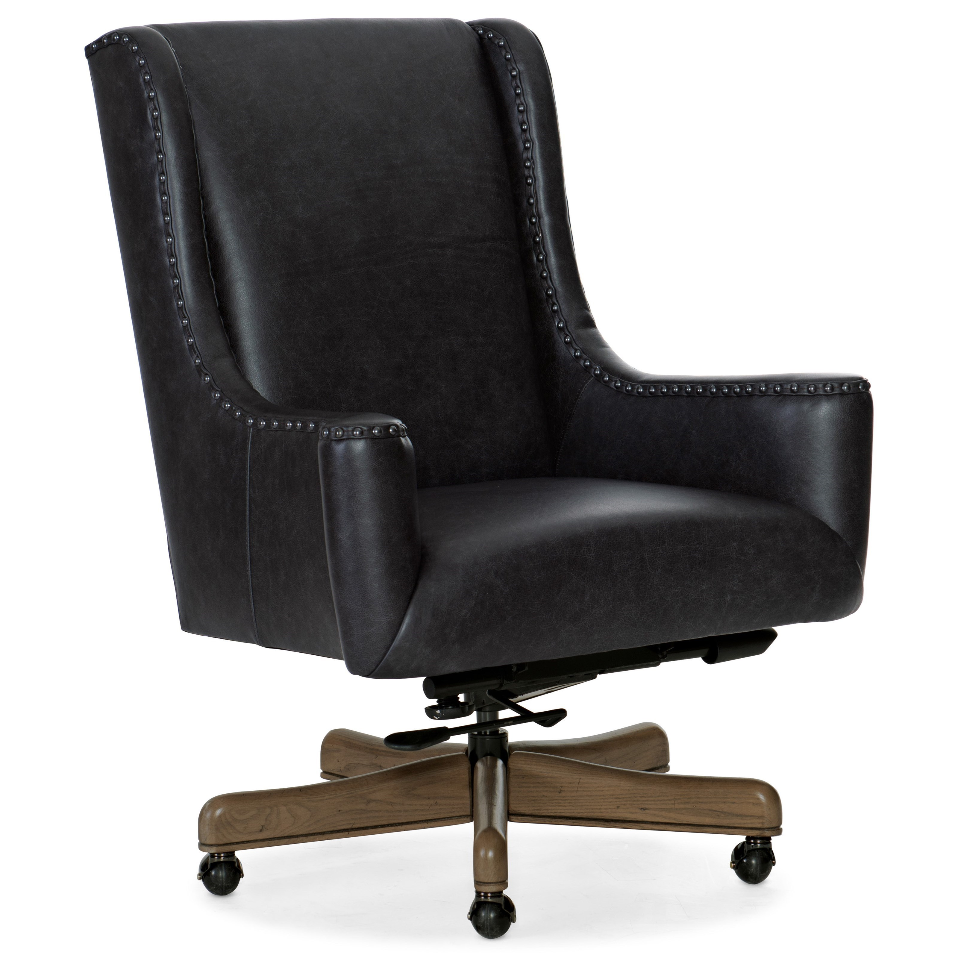 Executive Seating Lily Executive Swivel Tilt Chair by Hooker Furniture at Powell's Furniture and Mattress