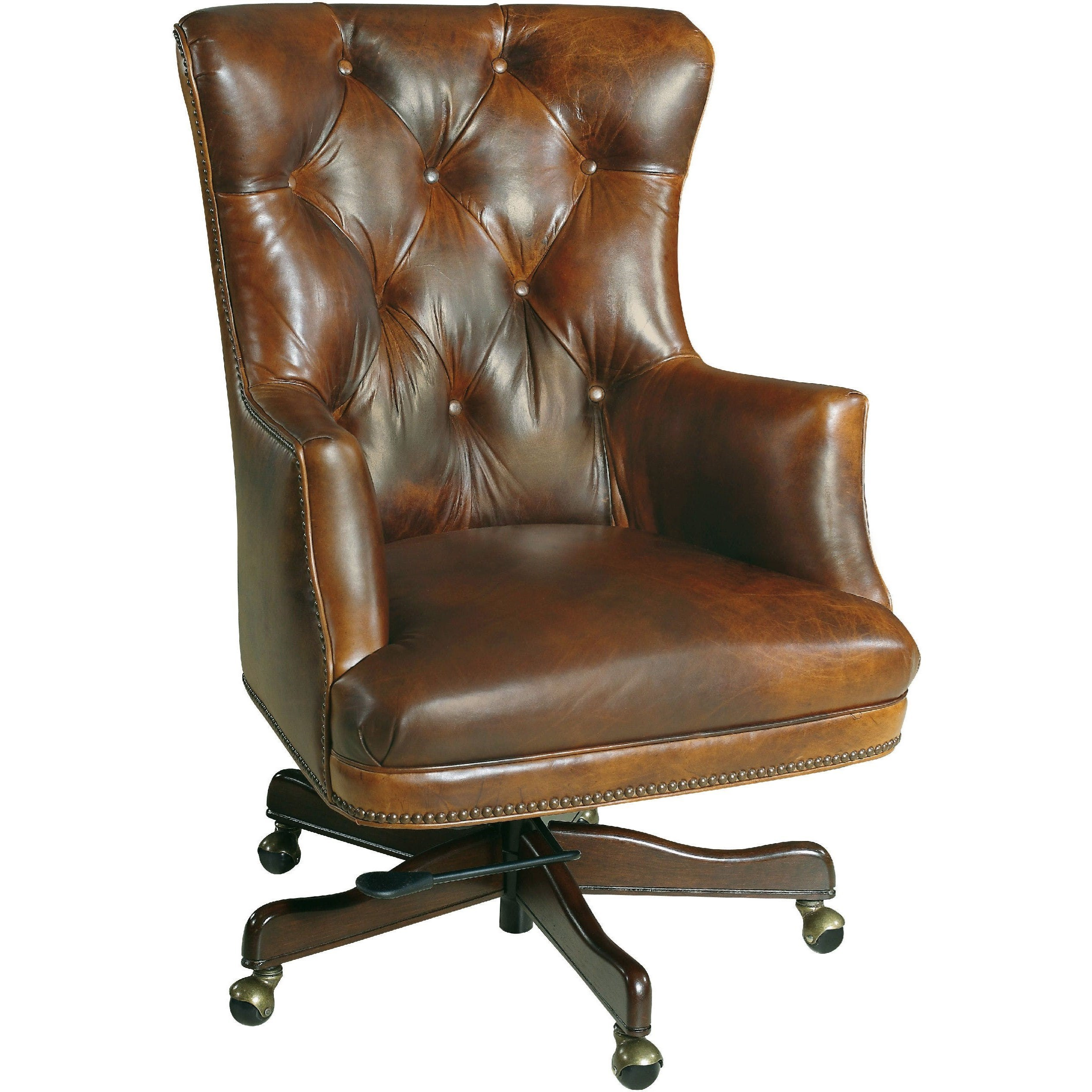 Executive Seating Executive Chair by Hooker Furniture at Miller Waldrop Furniture and Decor