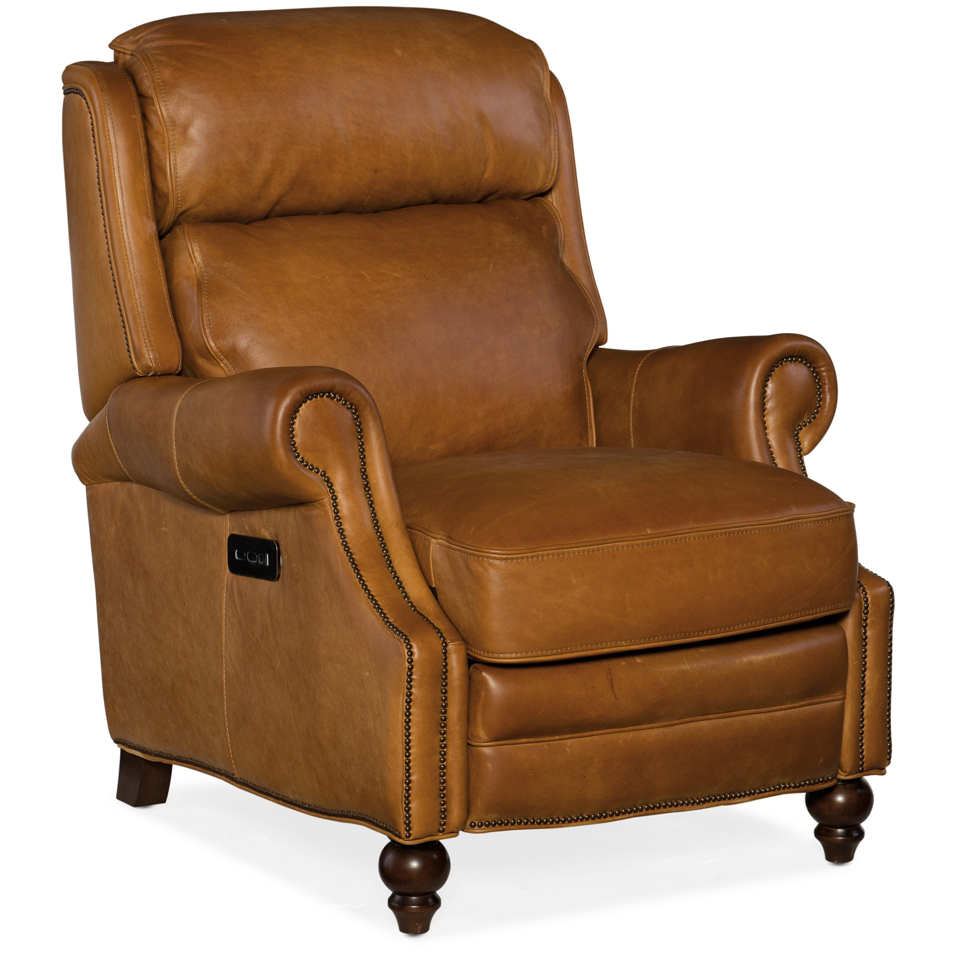 Reclining Chairs Power Recliner with Power Headrest by Hooker Furniture at Baer's Furniture