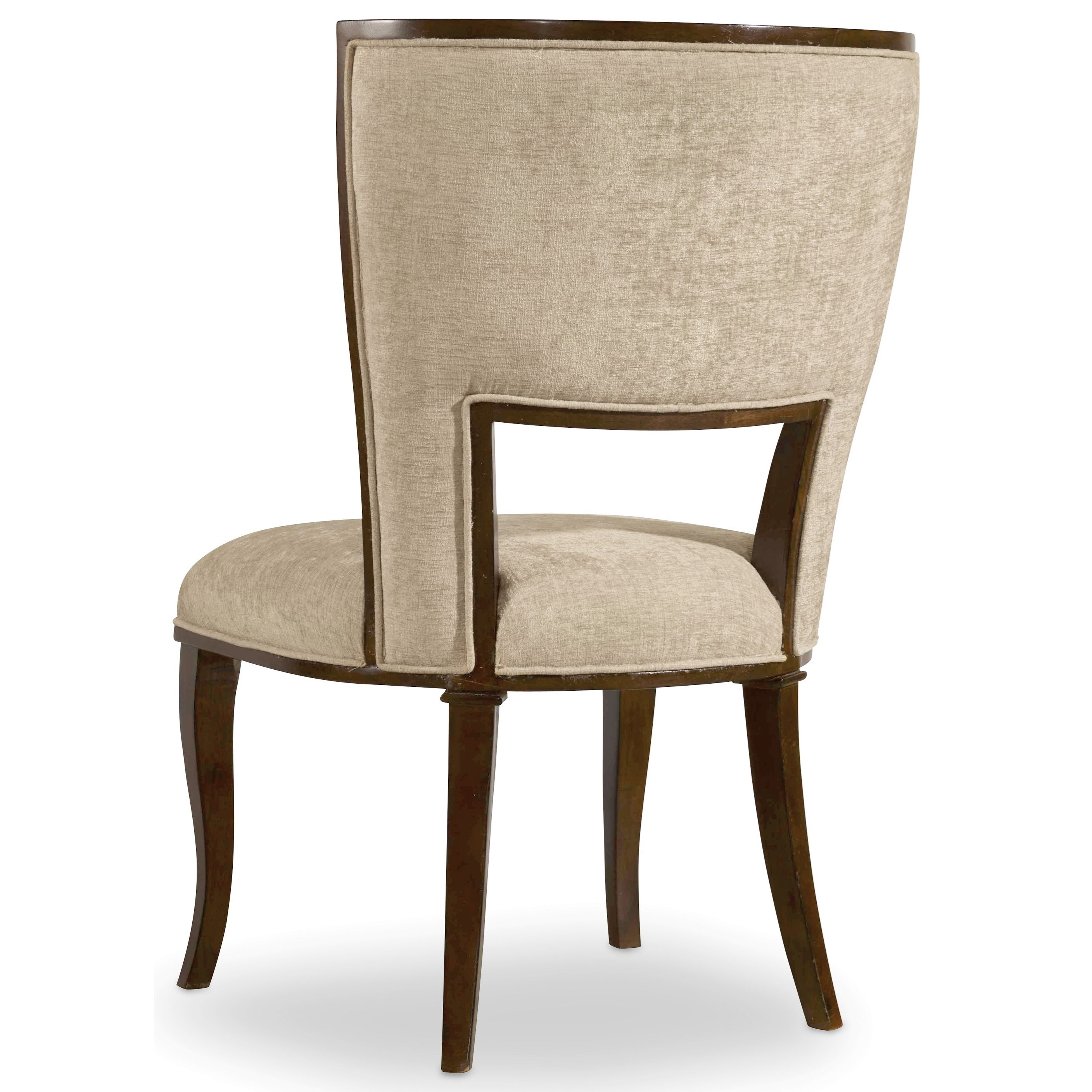 Hooker furniture skyline upholstered side chair with for Upholstered dining room side chairs