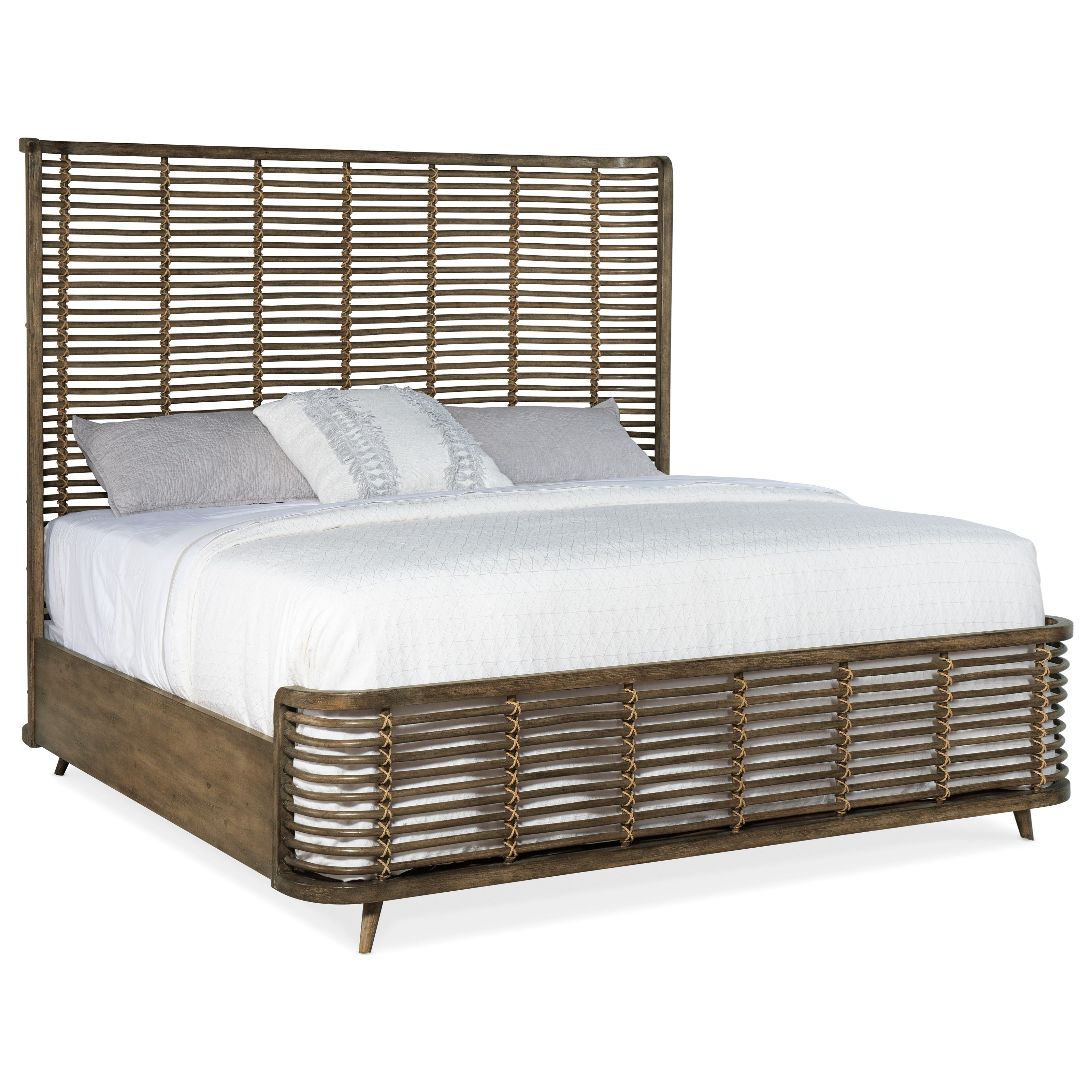 Queen Rattan Bed