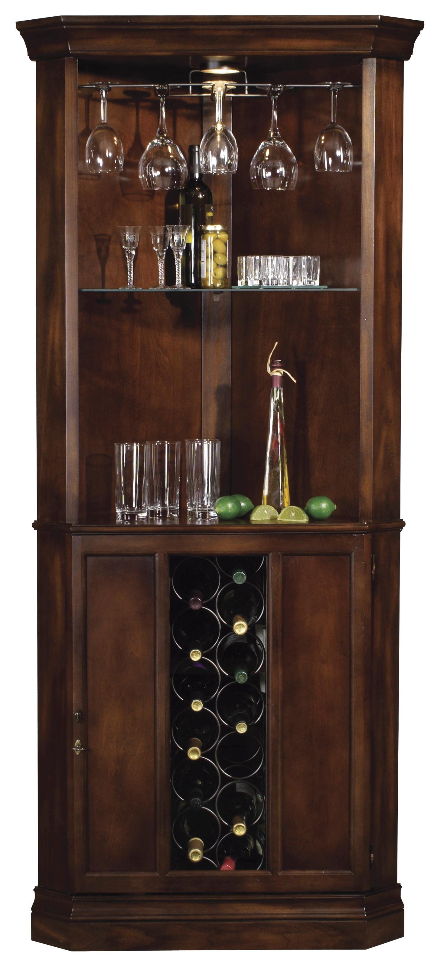 Howard miller wine bar furnishings piedmont corner wine Wine bar furniture