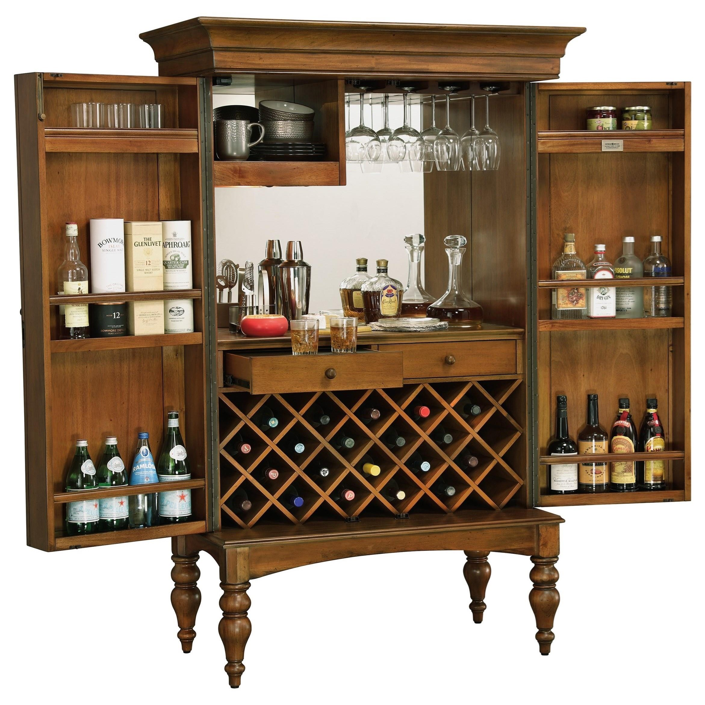 Howard miller wine bar furnishings toscana wine bar Wine bar furniture