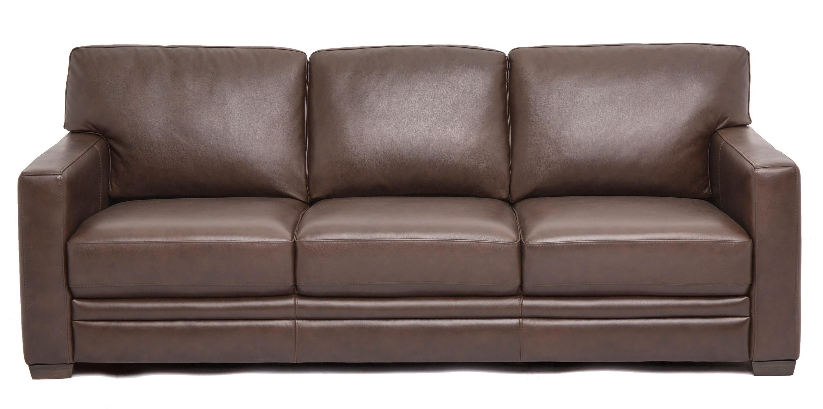 Htl 11674 Contemporary Sofa With Track Arms Wilson S