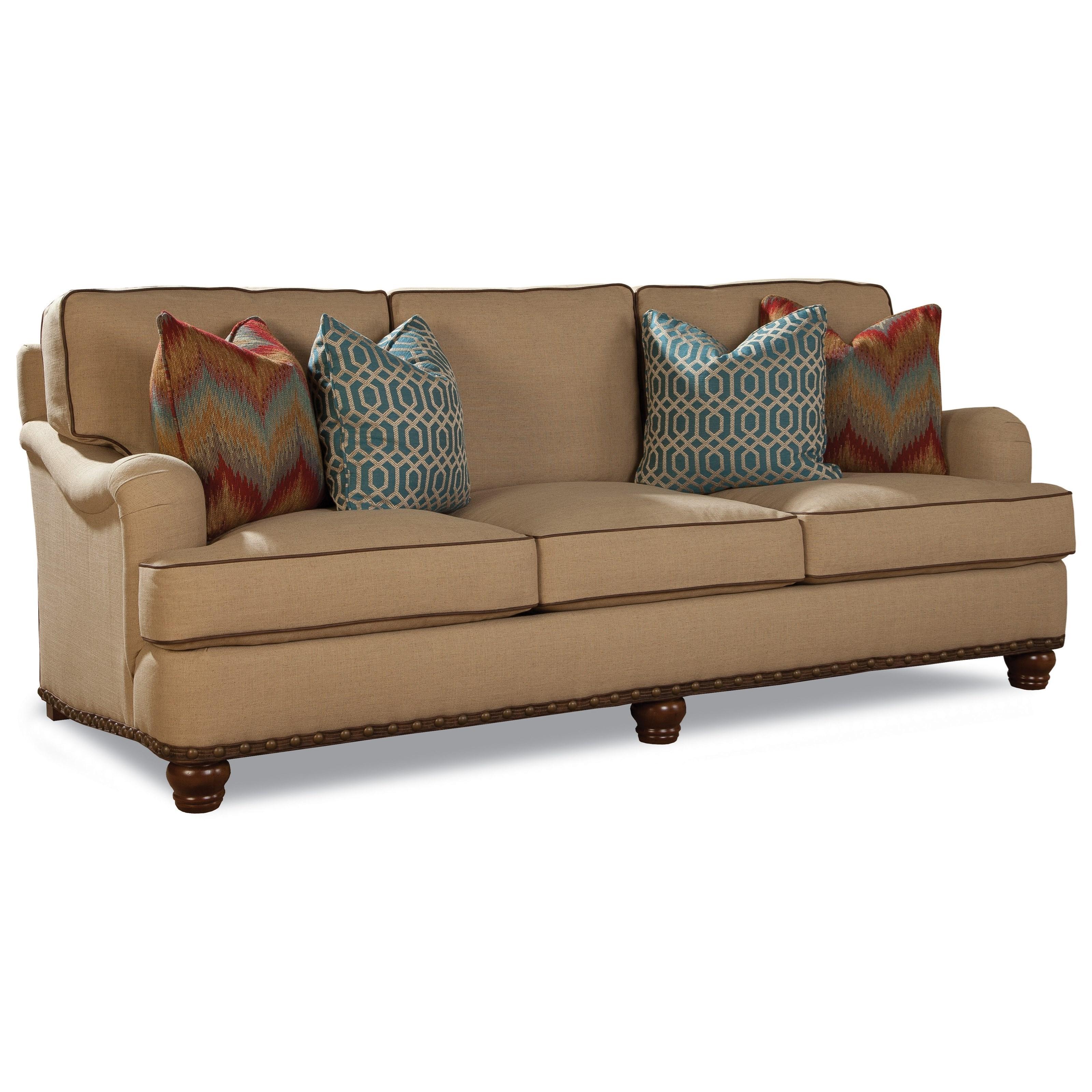 Huntington house 2071 customizable traditional sofa for Wayside furniture