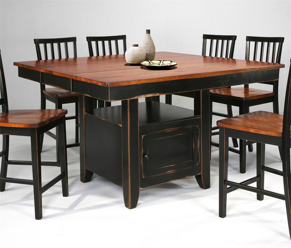 Intercon arlington kitchen gathering island table for Wayside furniture