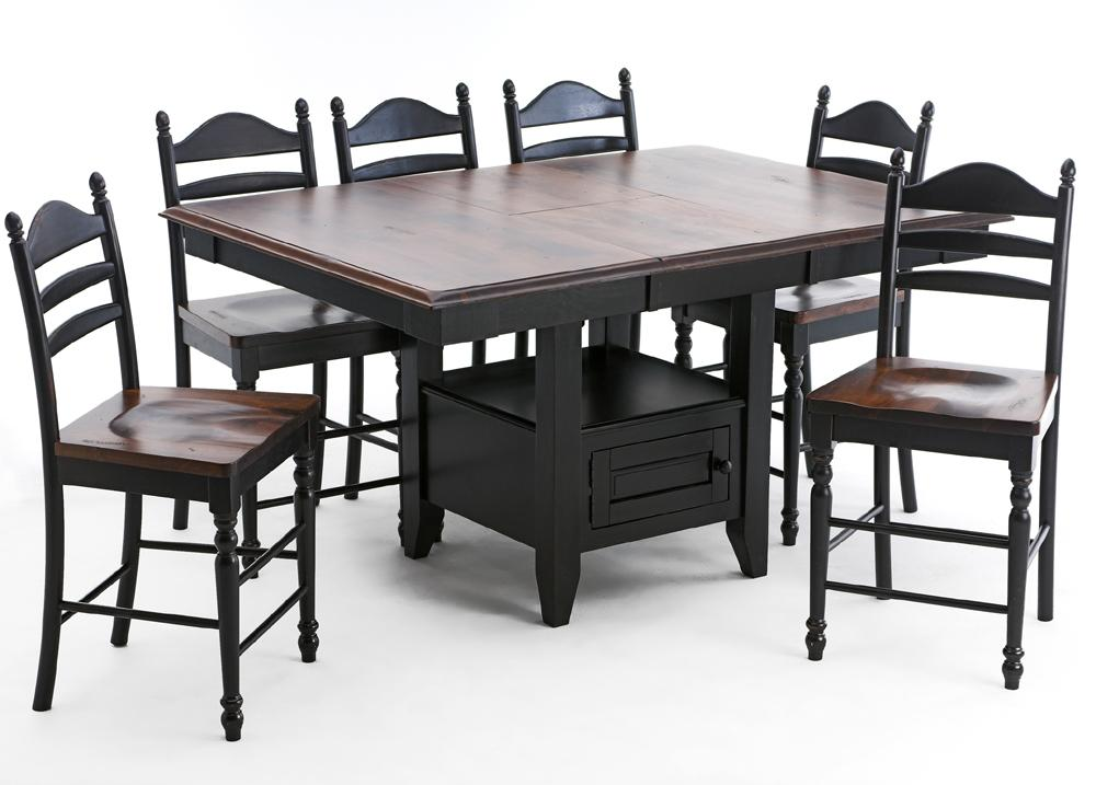Intercon Hillside Village Gathering Island Table Rife 39 S Home Furniture Pub Table