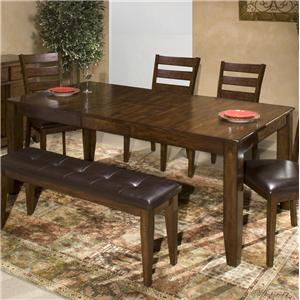 Belfort Select Cabin Creek Solid Mango Wood Dining Table