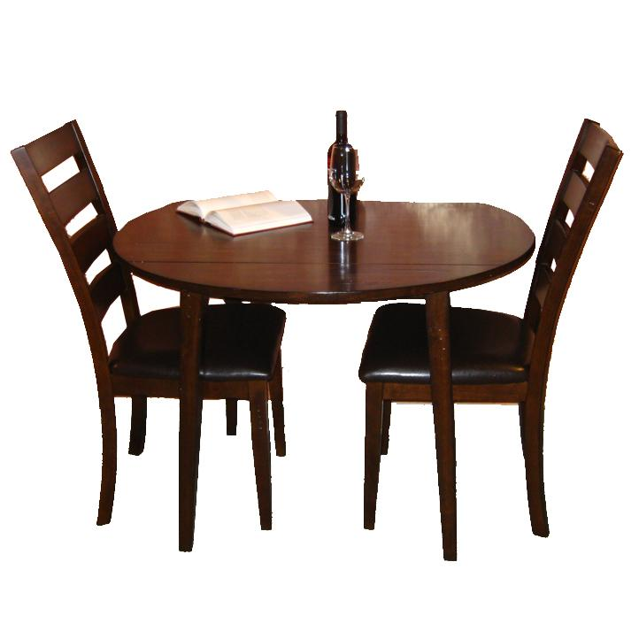 Piece Drop Leaf Dining Table And Ladder Back Side Chair Dining Set