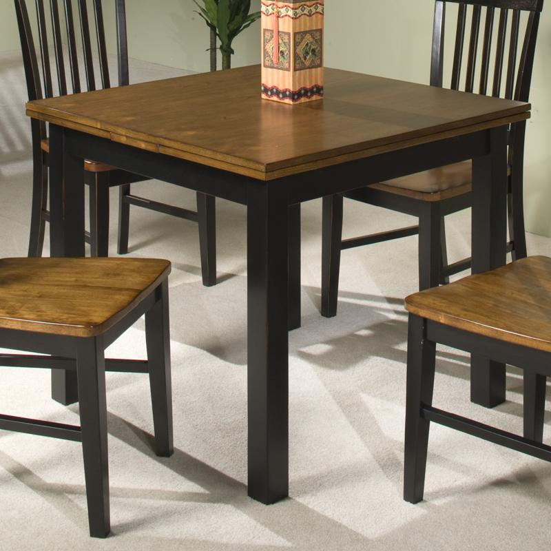 intercon siena sn ta 3664 bcr c refectory dining table w self storing leaves hudson 39 s. Black Bedroom Furniture Sets. Home Design Ideas