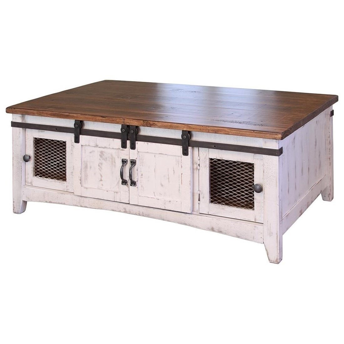 International furniture direct pueblo ifd360cktl w rustic for Direct furniture