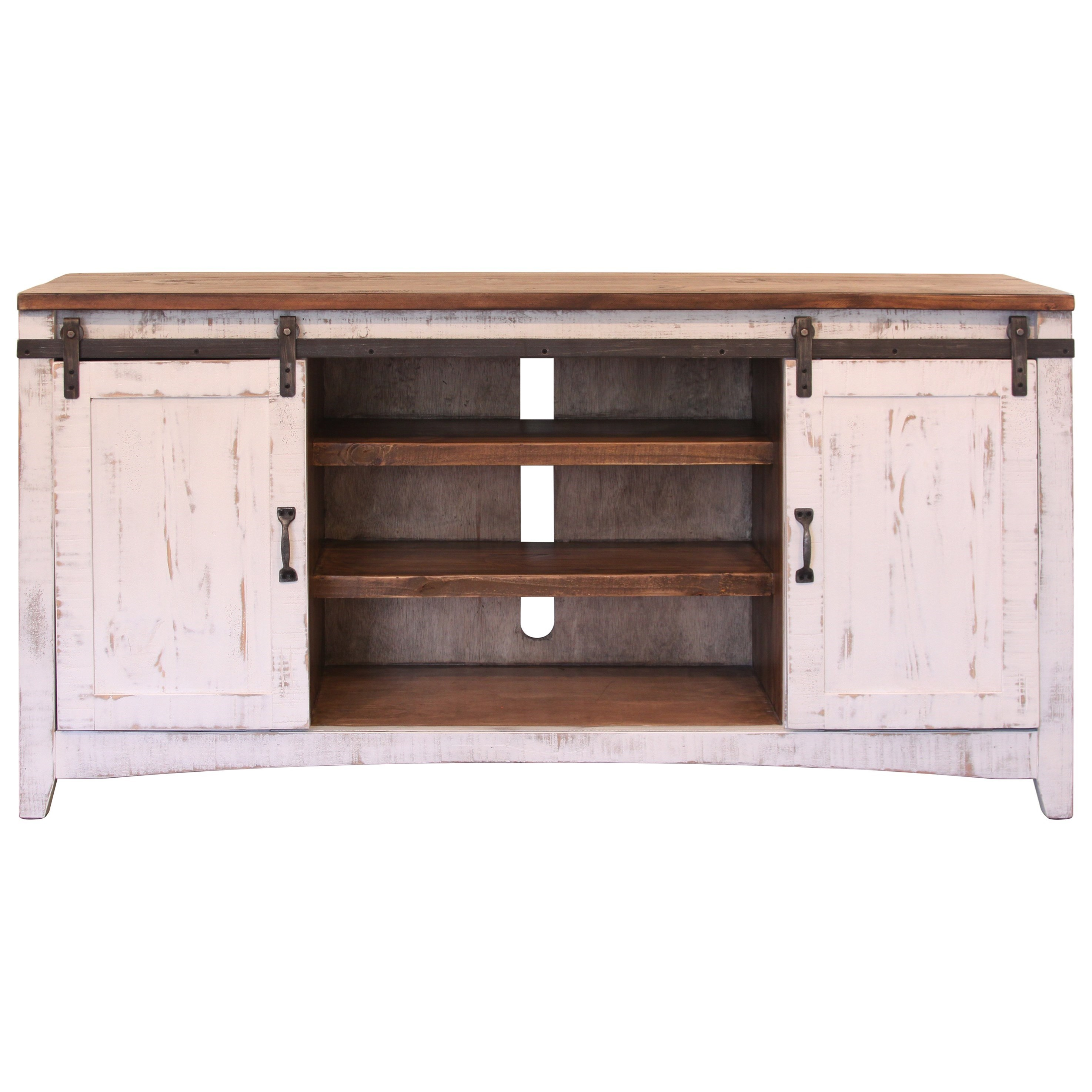 International Furniture Direct Pueblo Console Table With
