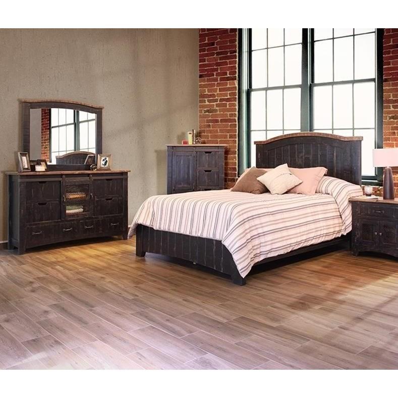 International Furniture Direct Pueblo Dresser With Sliding