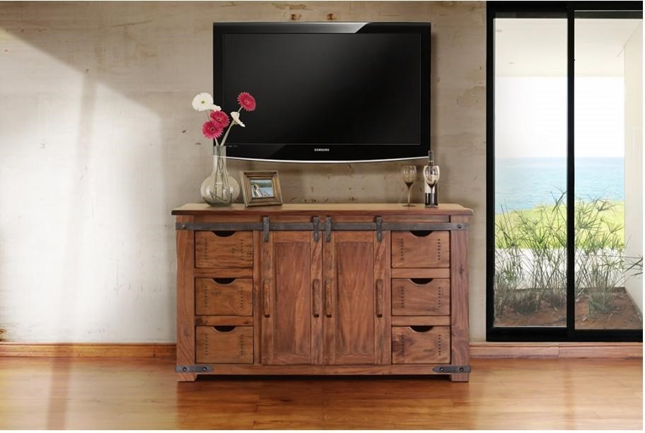 International furniture direct parota ifdi ifd866 stand 60 for American furniture warehouse tv stands