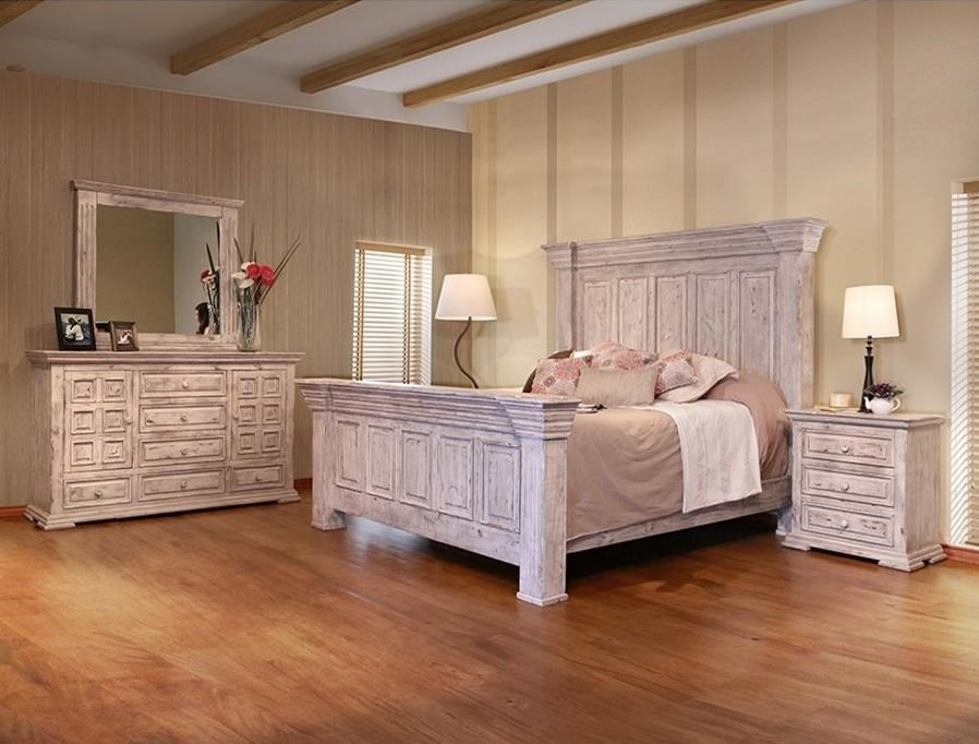 International furniture direct terra white queen bedroom for Bedroom furniture groups