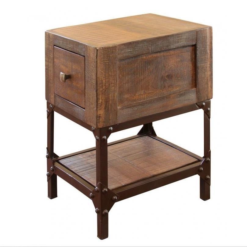 International Furniture Direct Urban Gold Ifd560cst Rustic