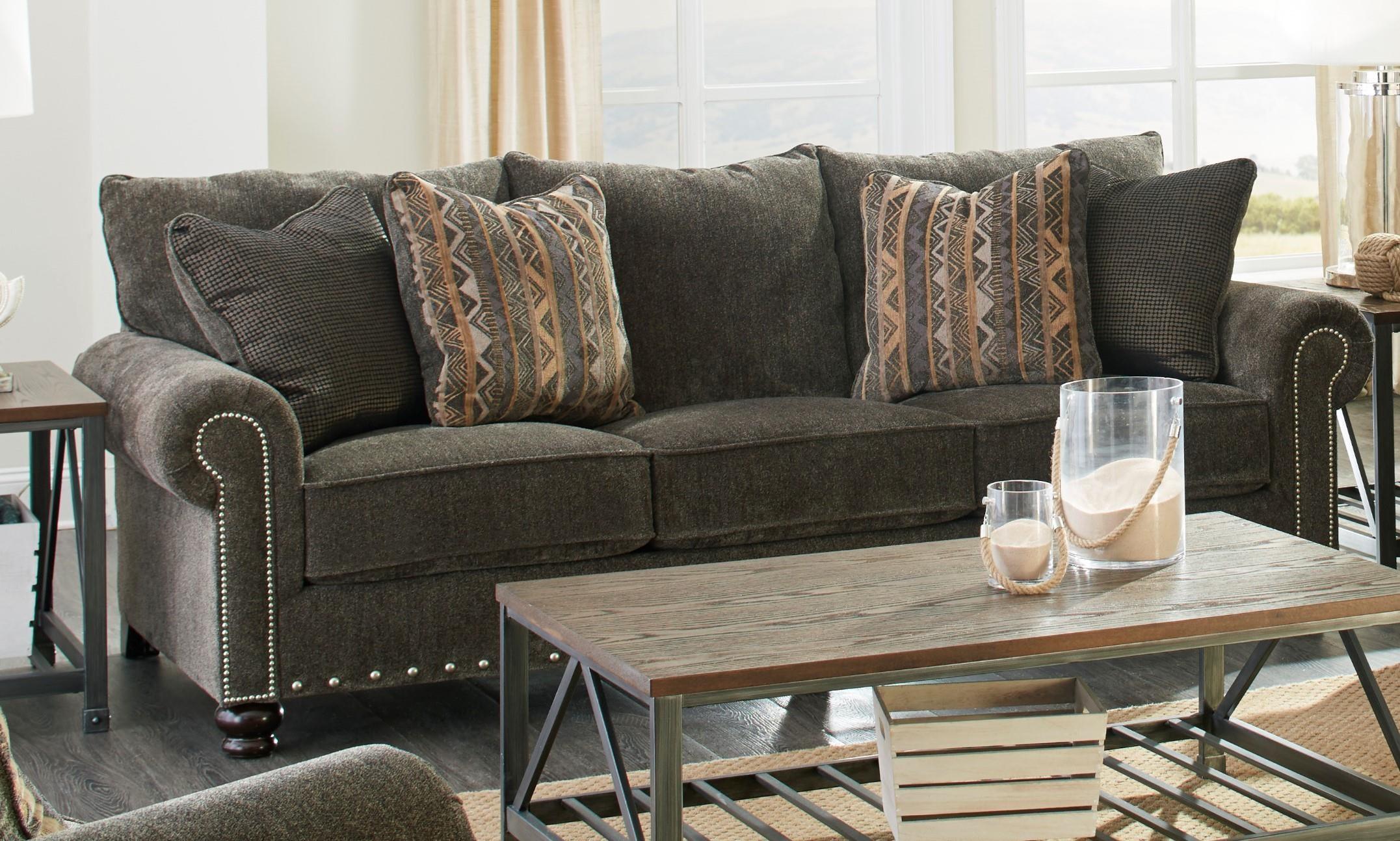 Jackson Furniture Avery Brown Sofa Great American Home