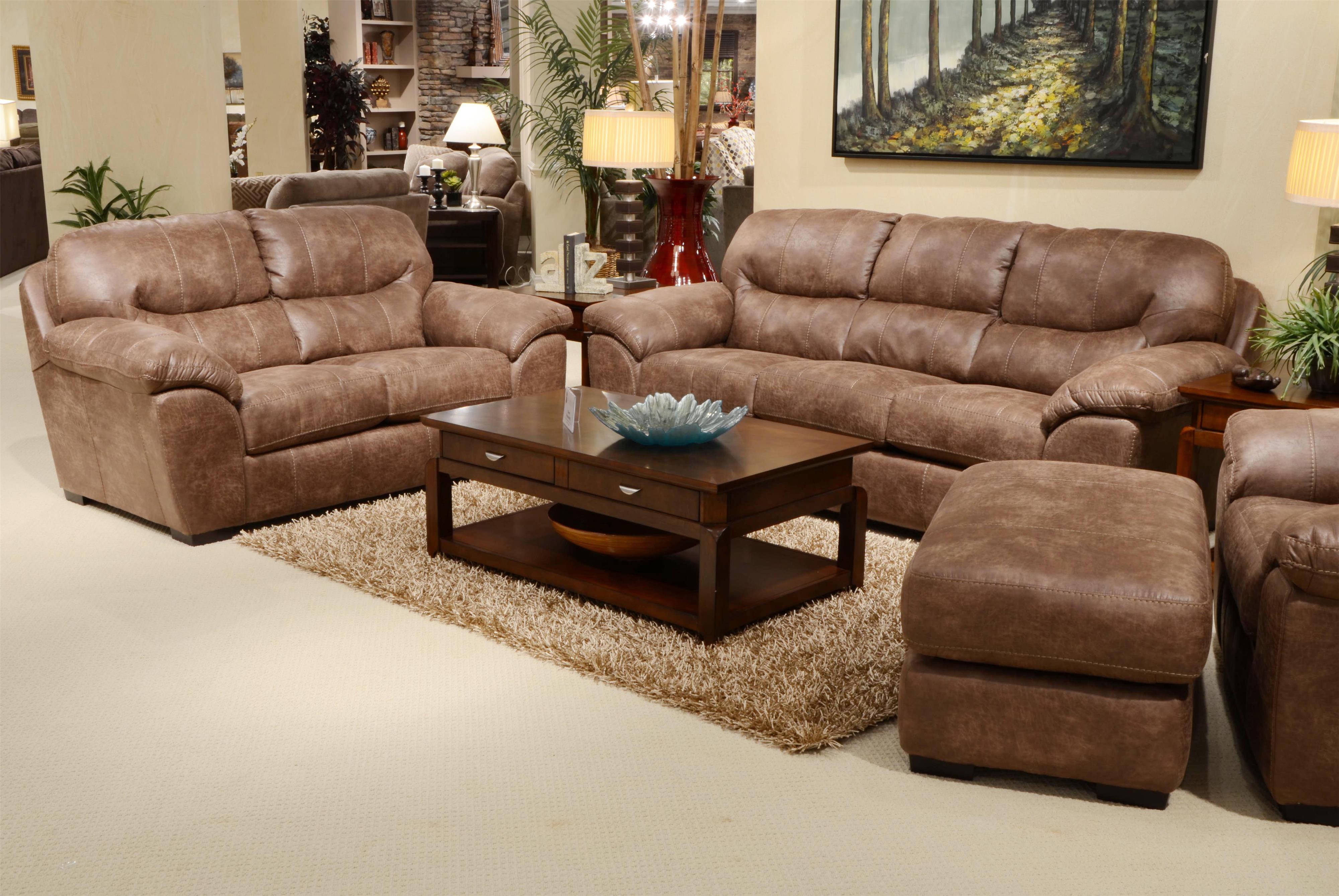 Jackson Furniture Grant Stationary Living Room Group Miskelly Furniture Stationary Living