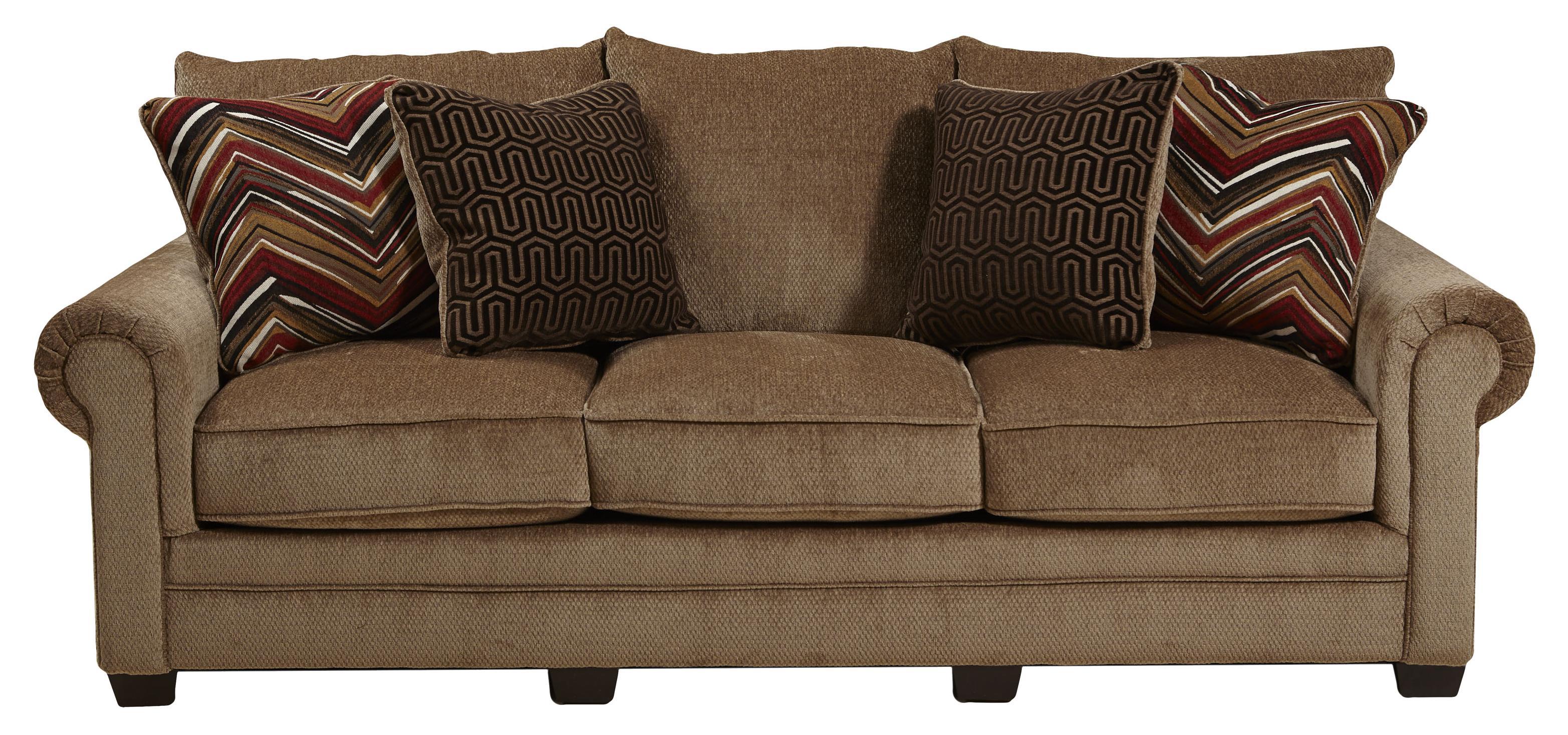 Jackson Furniture Anniston Rolled Arm Sofa EFO Furniture