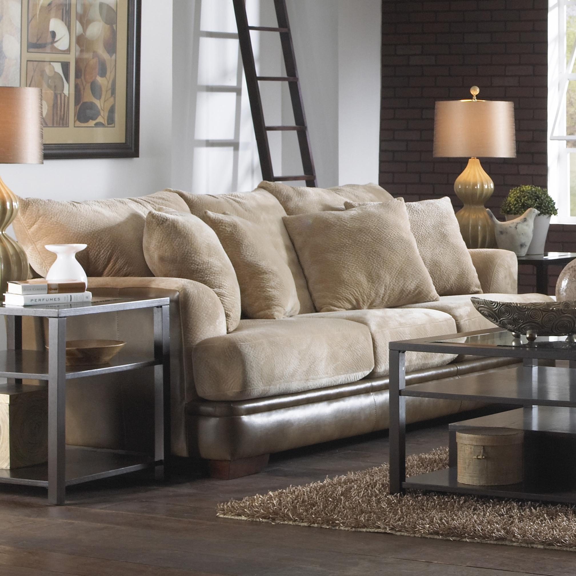 Jackson Furniture PIERCE Contemporary Sofa with Unique