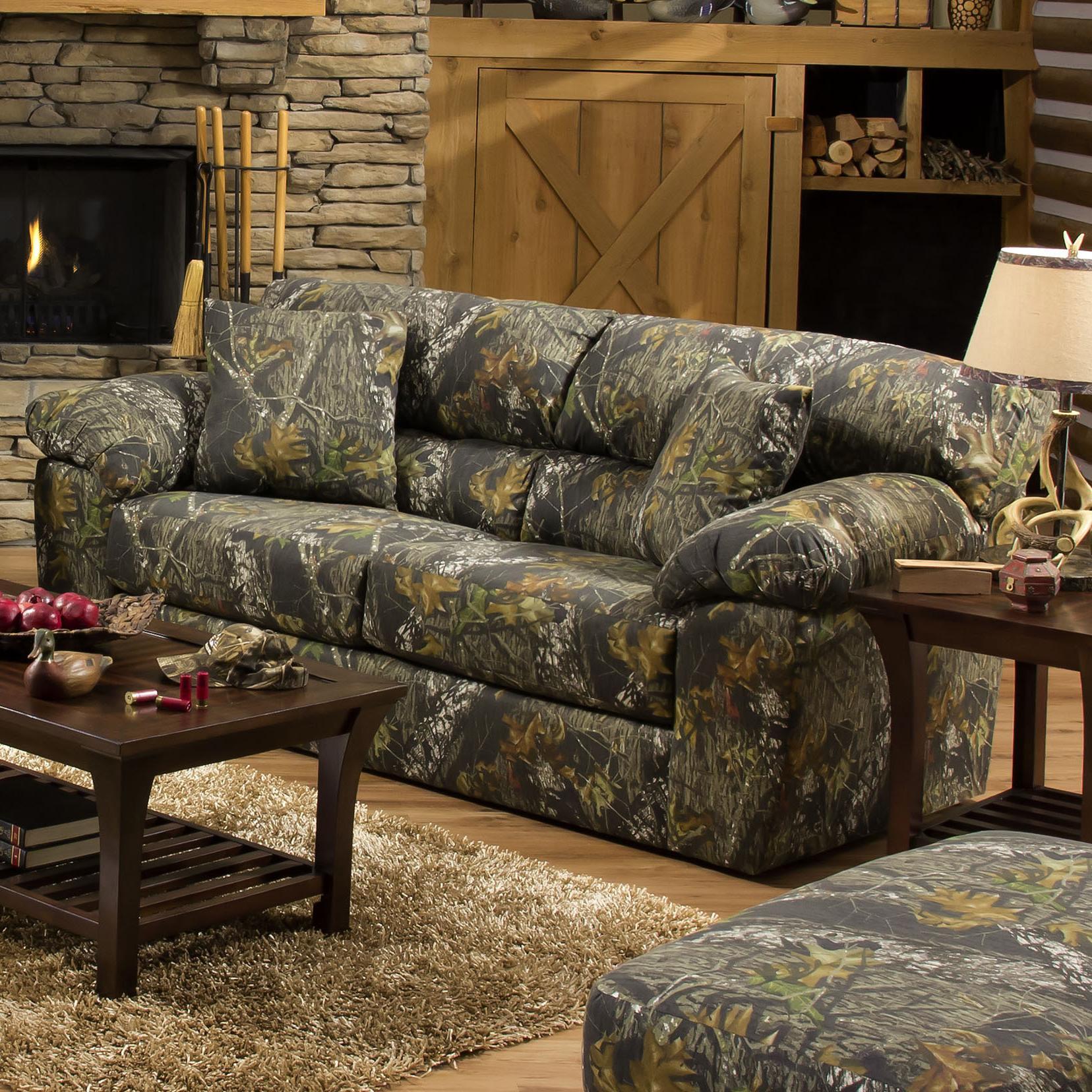Jackson Furniture Big Game Camouflage Two Seat Sofa