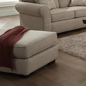 Jackson Furniture Maddox Transitional Sofa With Sock Arms