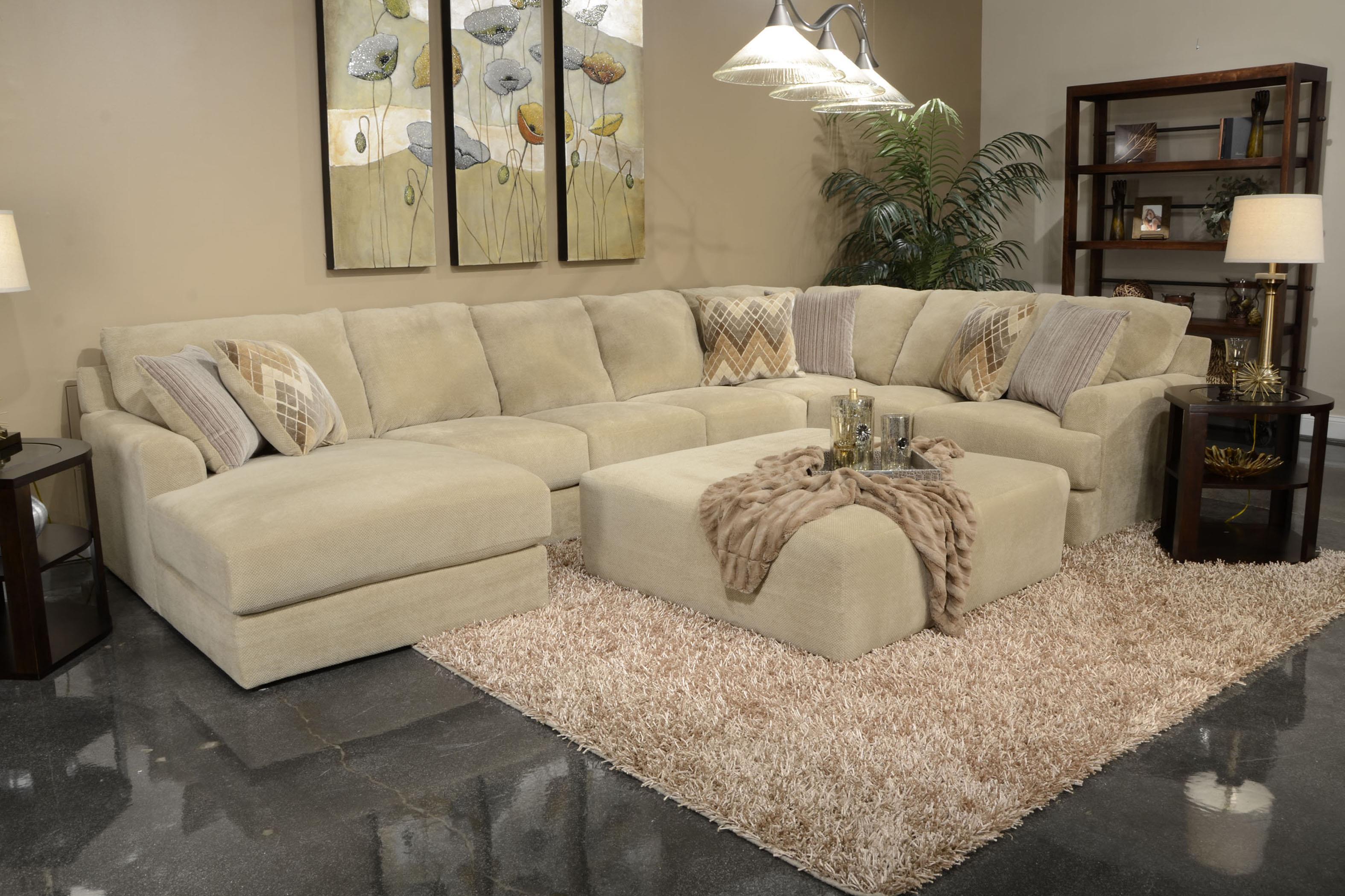 Jackson Furniture Malibu Six Seat Sectional Sofa EFO