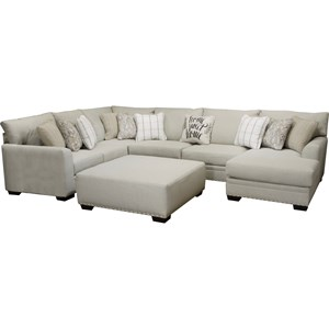 Jackson Furniture Middleton U Shaped Sectional With Chaise