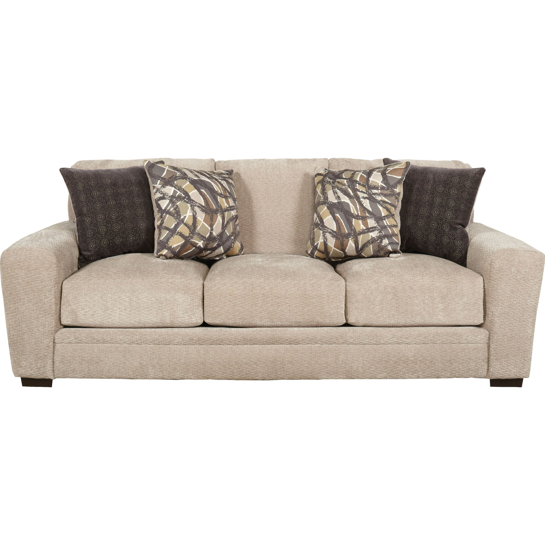 Jackson furniture prescott casual contemporary sofa for Casual couch