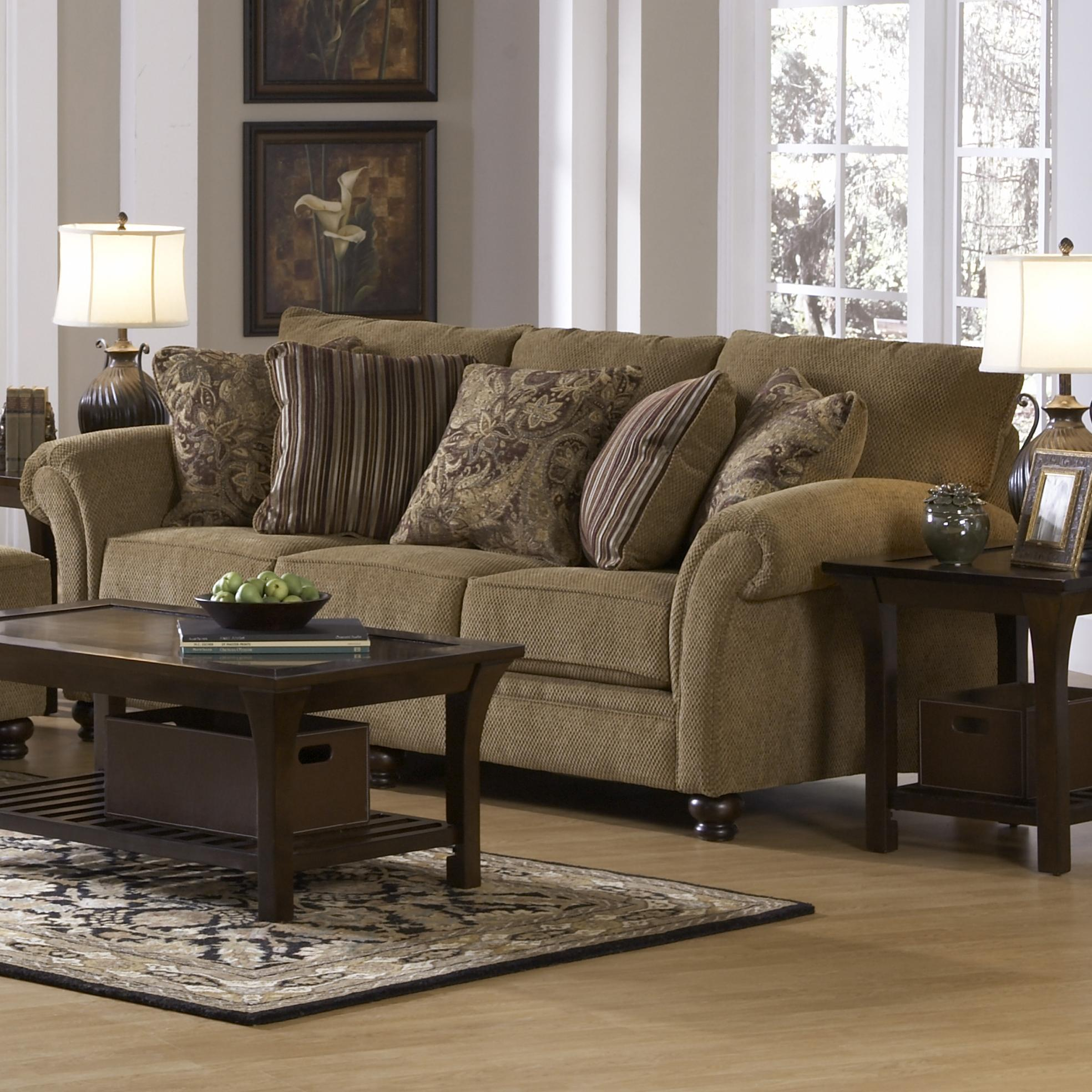 Jackson Furniture Suffolk Traditional Styled Sofa with