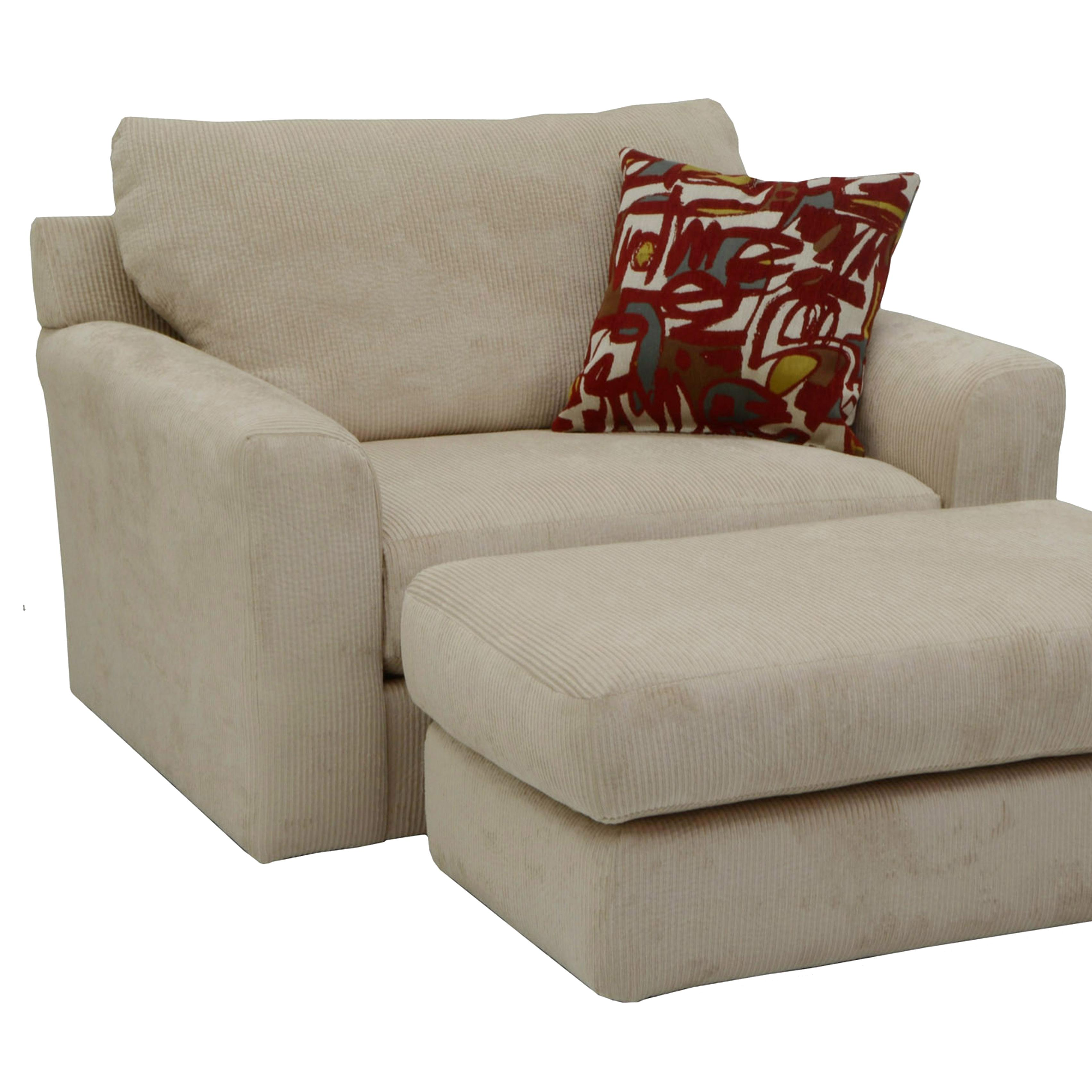 Jackson Furniture Sutton Chair and a Half with Casual