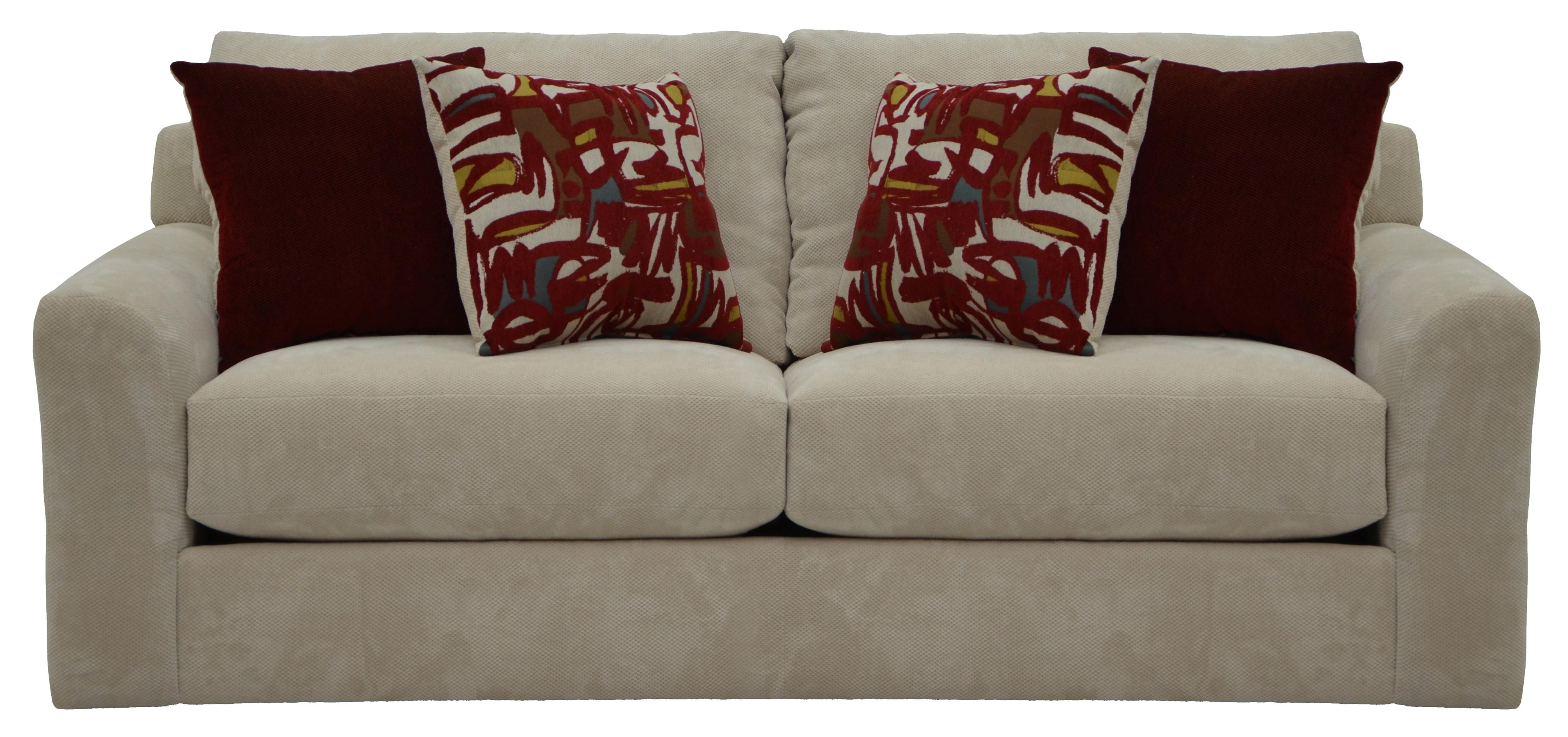 Jackson Furniture Sutton Sleeper Sofa with Casual Style