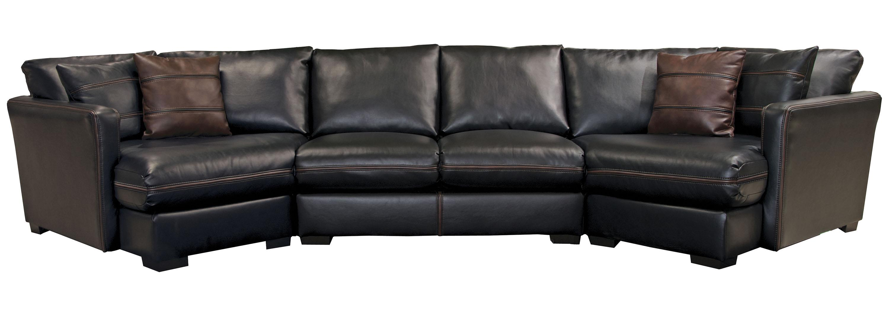 Jackson furniture tucker four seat sectional sofa lapeer for Jackson furniture sectional sofa