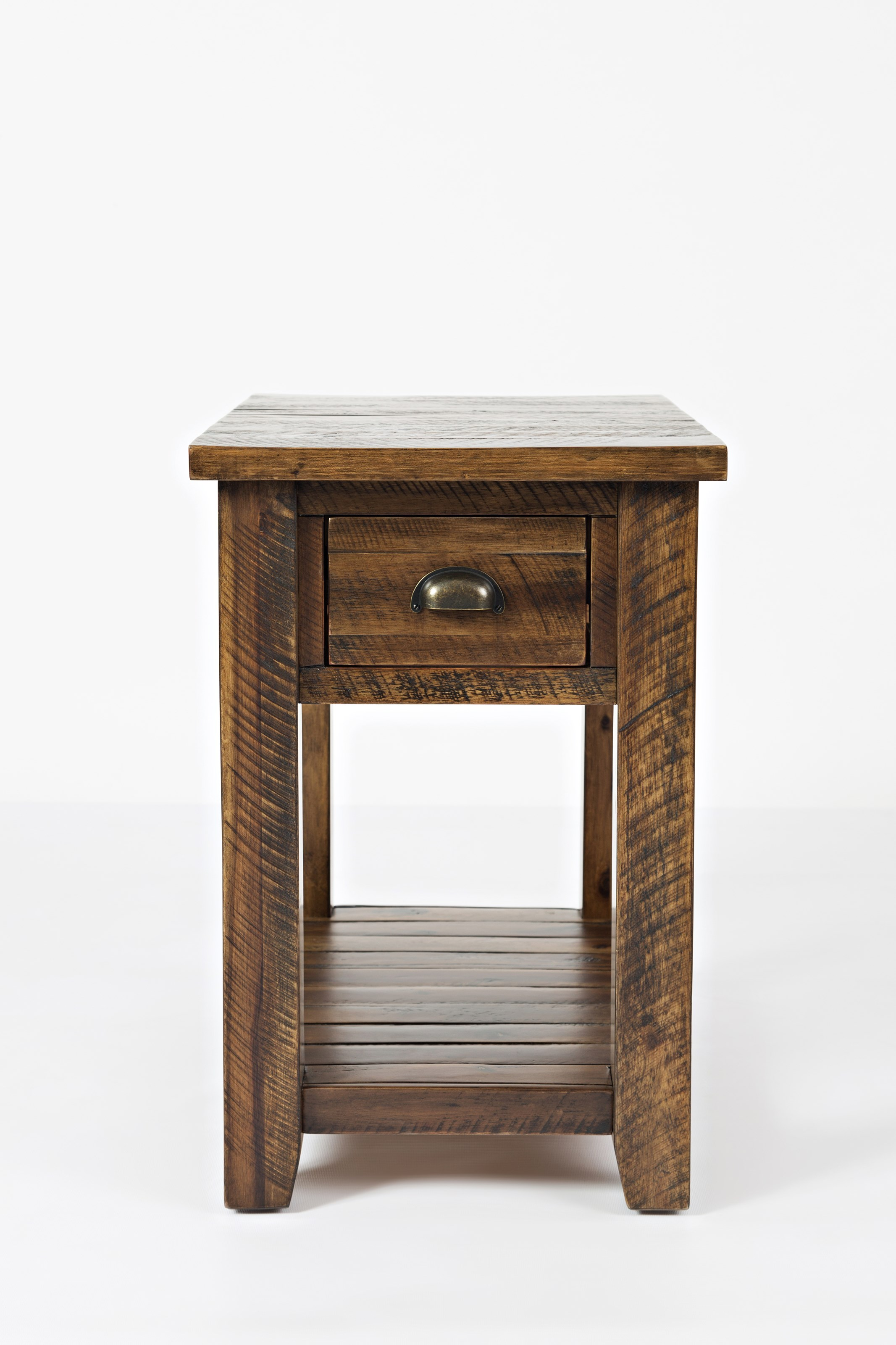 Artisan's Craft Chairside Table by Jofran at Jofran