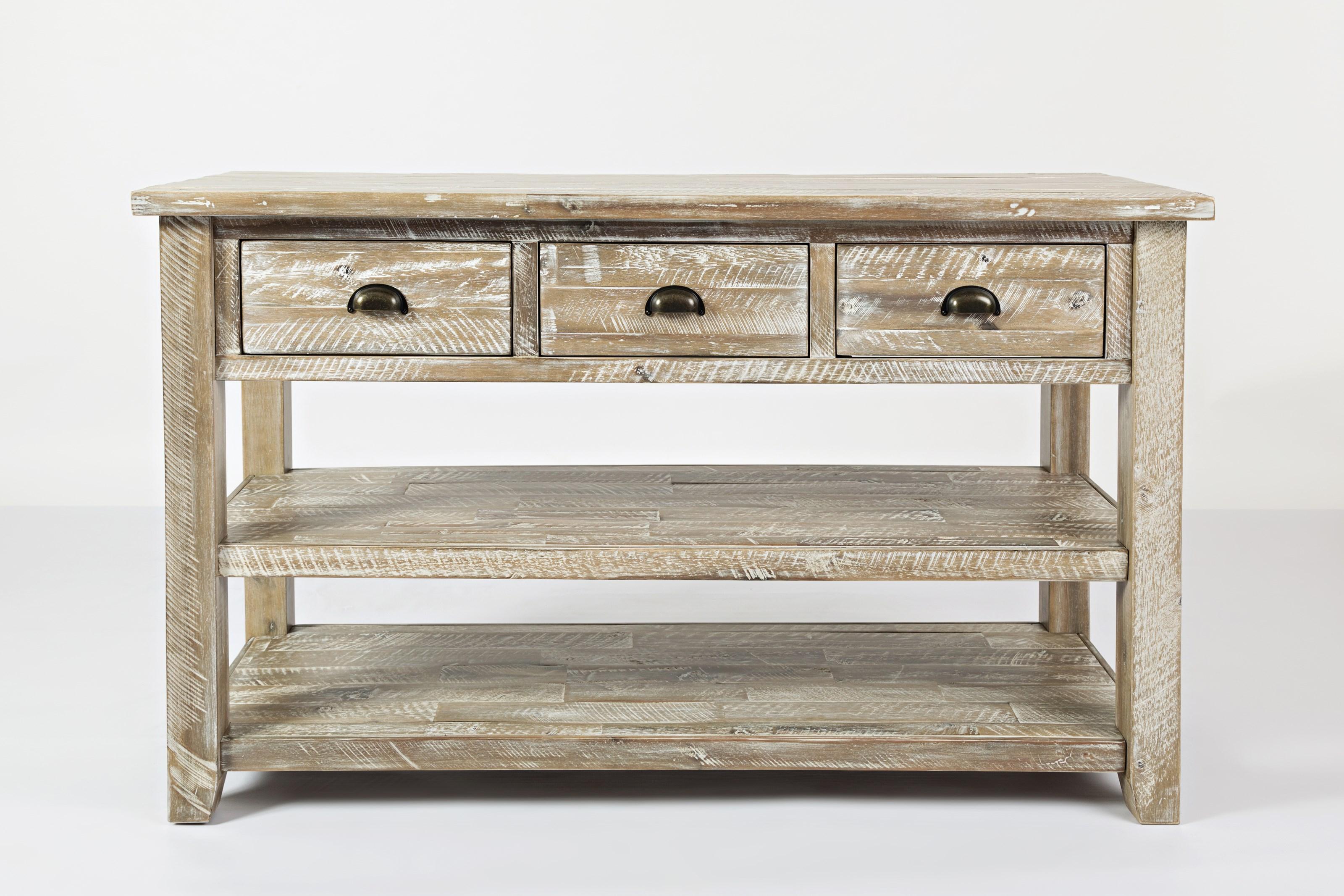 Artisan's Craft Sofa Table by Jofran at Jofran