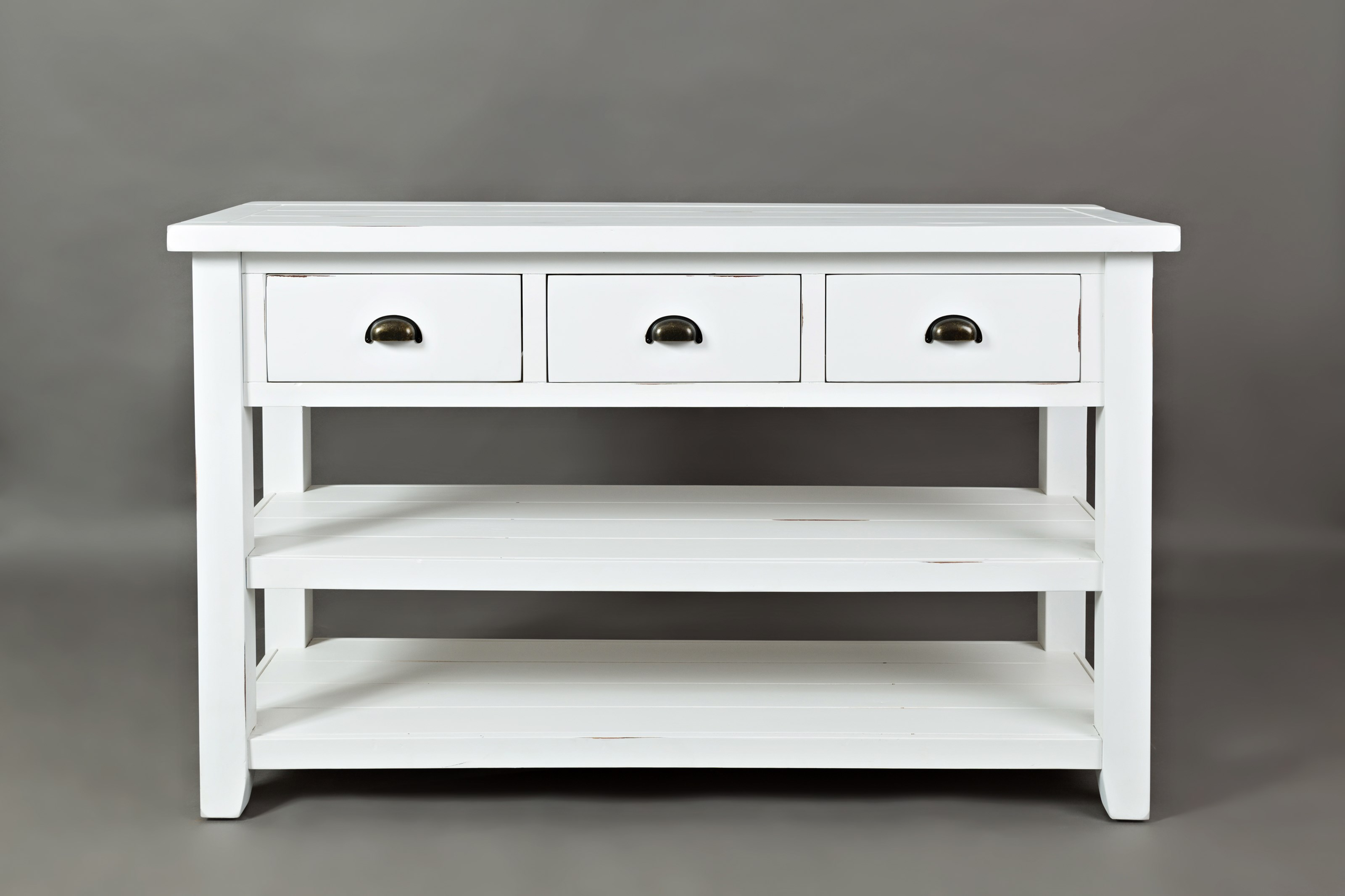 Artisan's Craft Sofa Table by Jofran at Sam Levitz Outlet